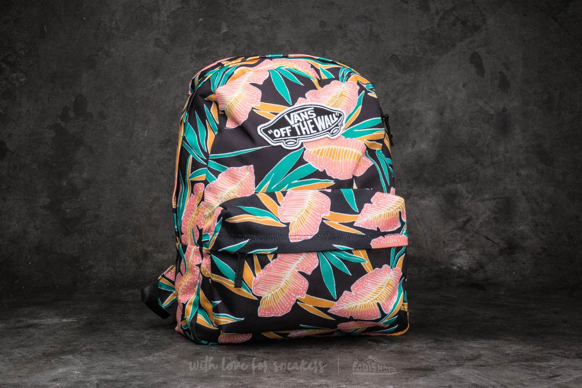 Vans Realm Backpack Black Tropical