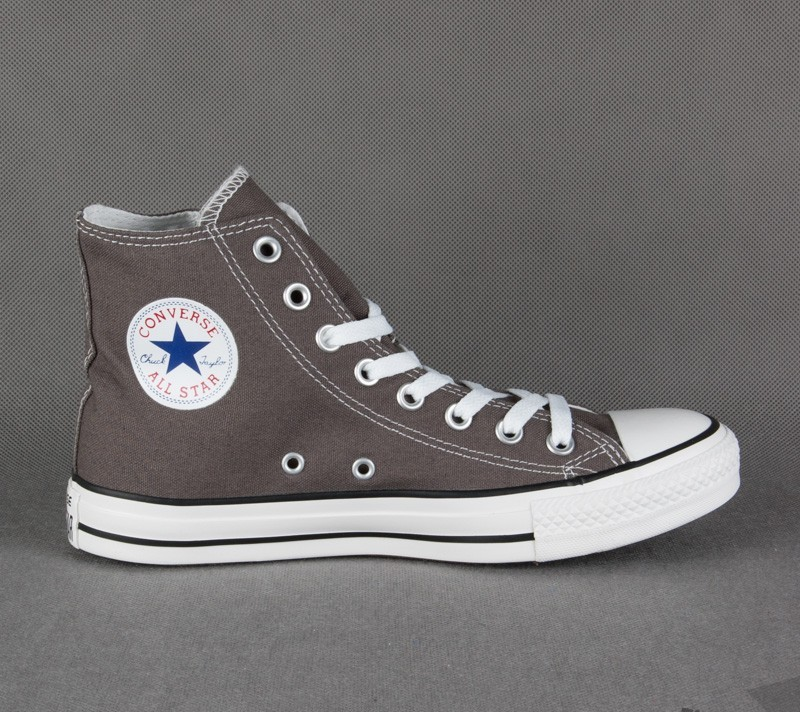 5cd2799ec1fa Converse All Stars Hi Top Mens Trainers - Charcoal