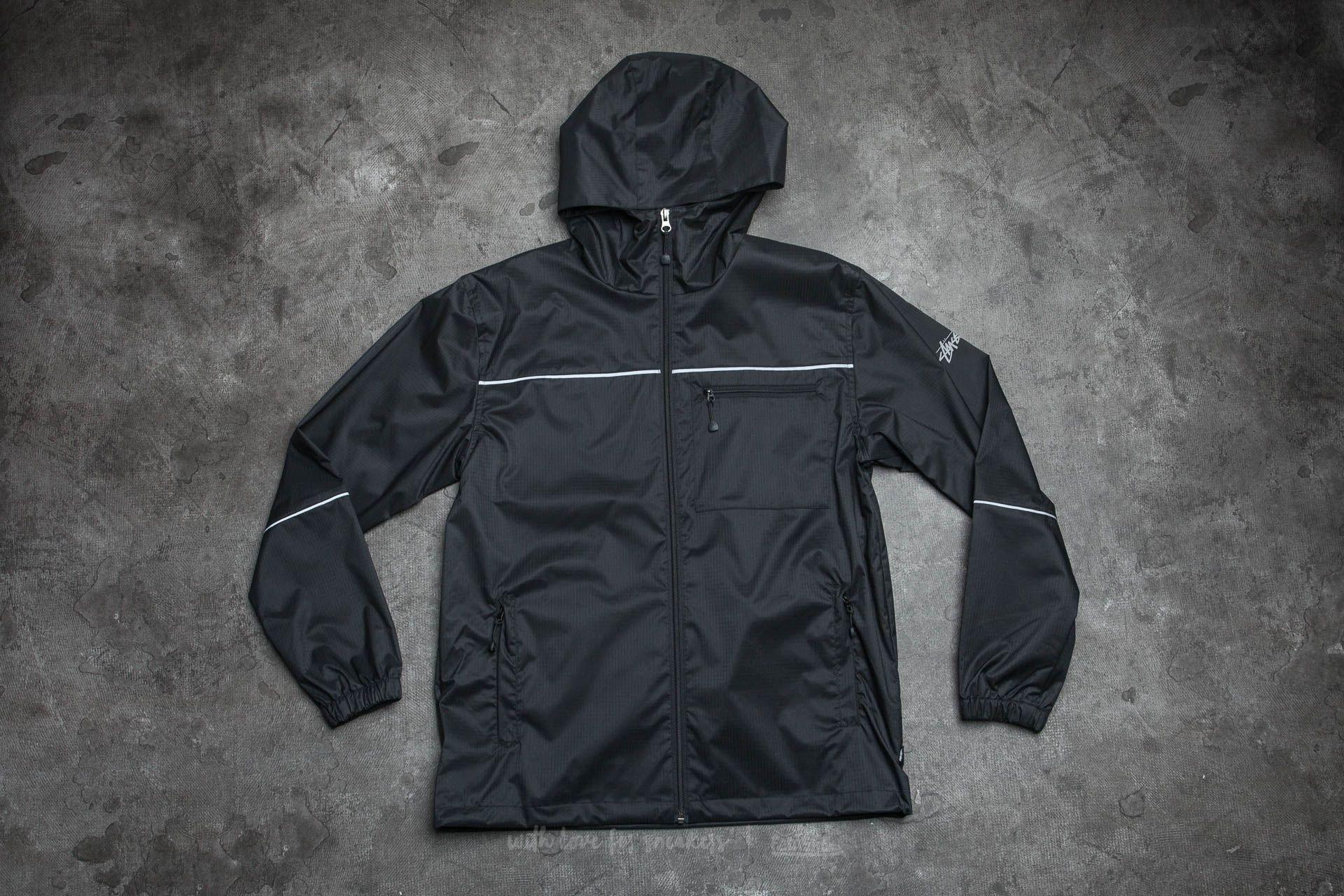 1aef5c484f03 Stüssy 3M Ripstop Jacket Black | Footshop