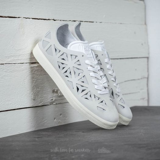 ADIDAS ORIGINALS WHITE GAZELLE CUT OUT SNEAKERS