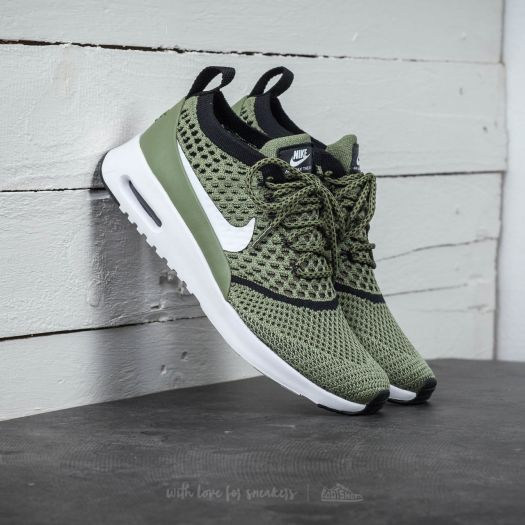 Schuhe Nike air max Thea flyknit palm green