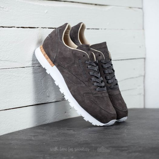 coupon codes matching in colour great fit Reebok Classic Leather LST Urban Grey/ Stone/ White ...