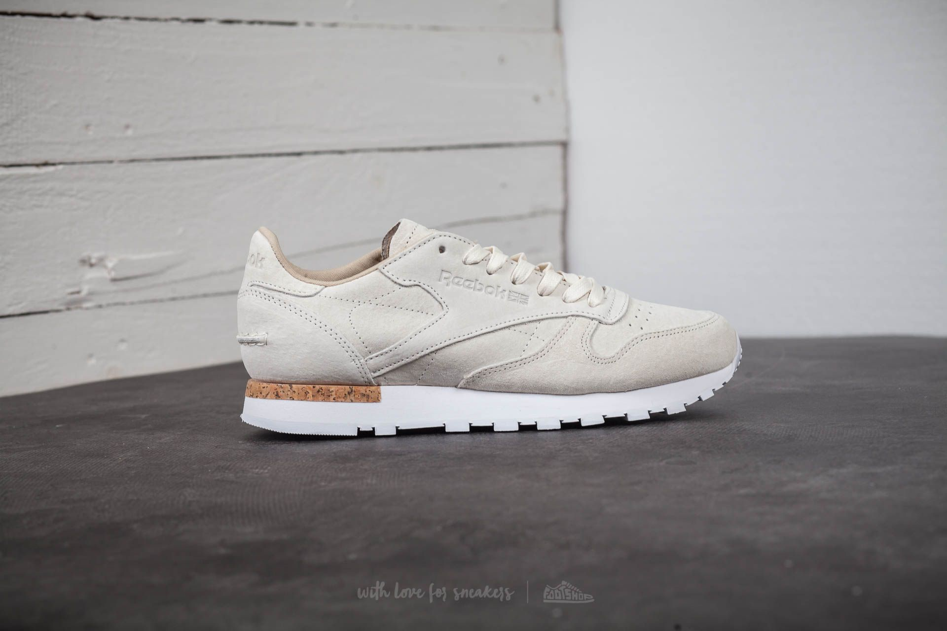 detailed images clearance special for shoe Reebok Classic Leather LST White/ Paperwhite | Footshop