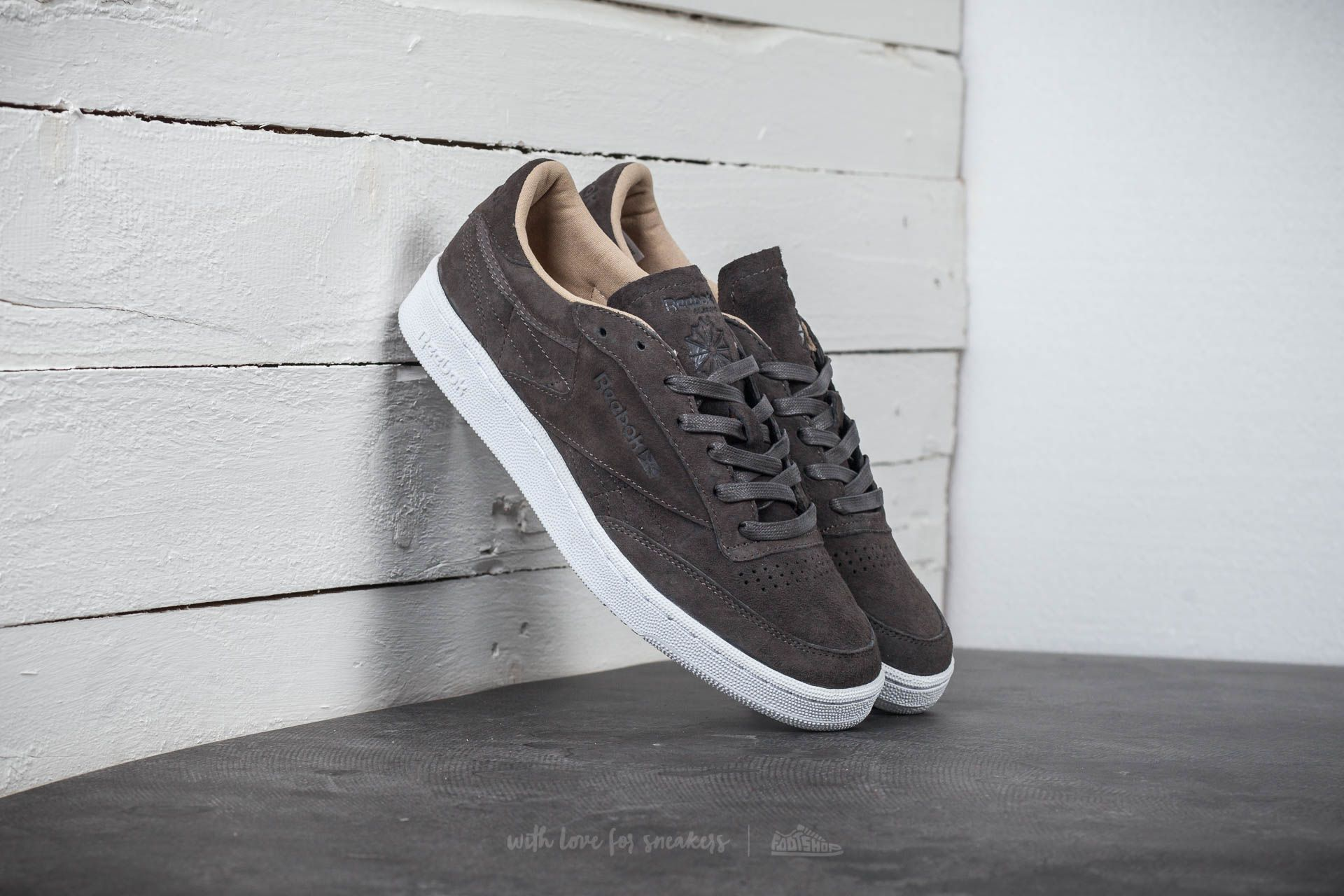 7434071b82b Reebok Club C 85 LST Urban Grey  Stone  White
