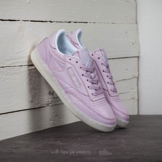 Reebok Club C 85 On The Court Shell Purple White Grey