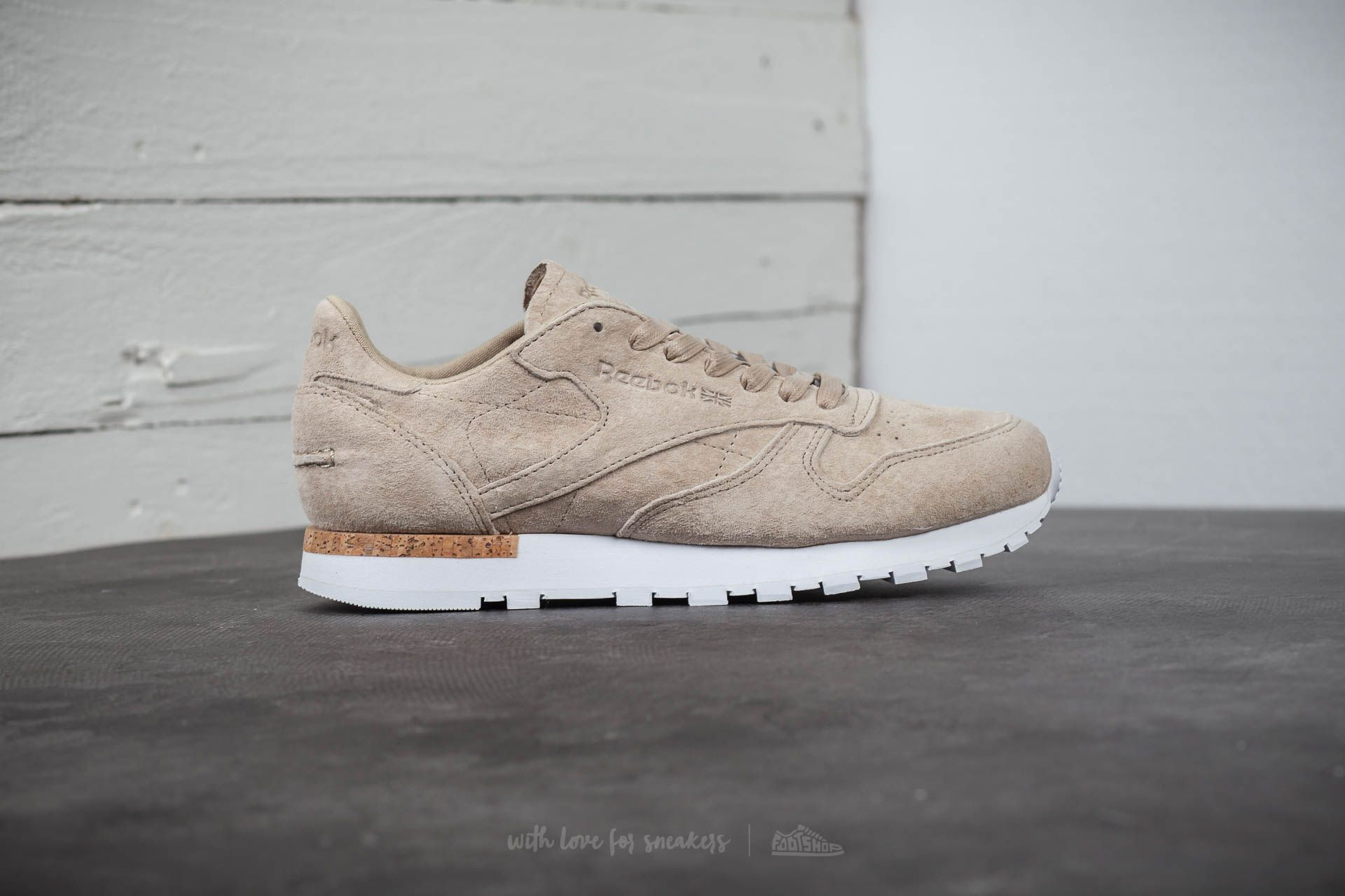 Reebok Classic Leather LST Oatmeal Driftwood White | Footshop