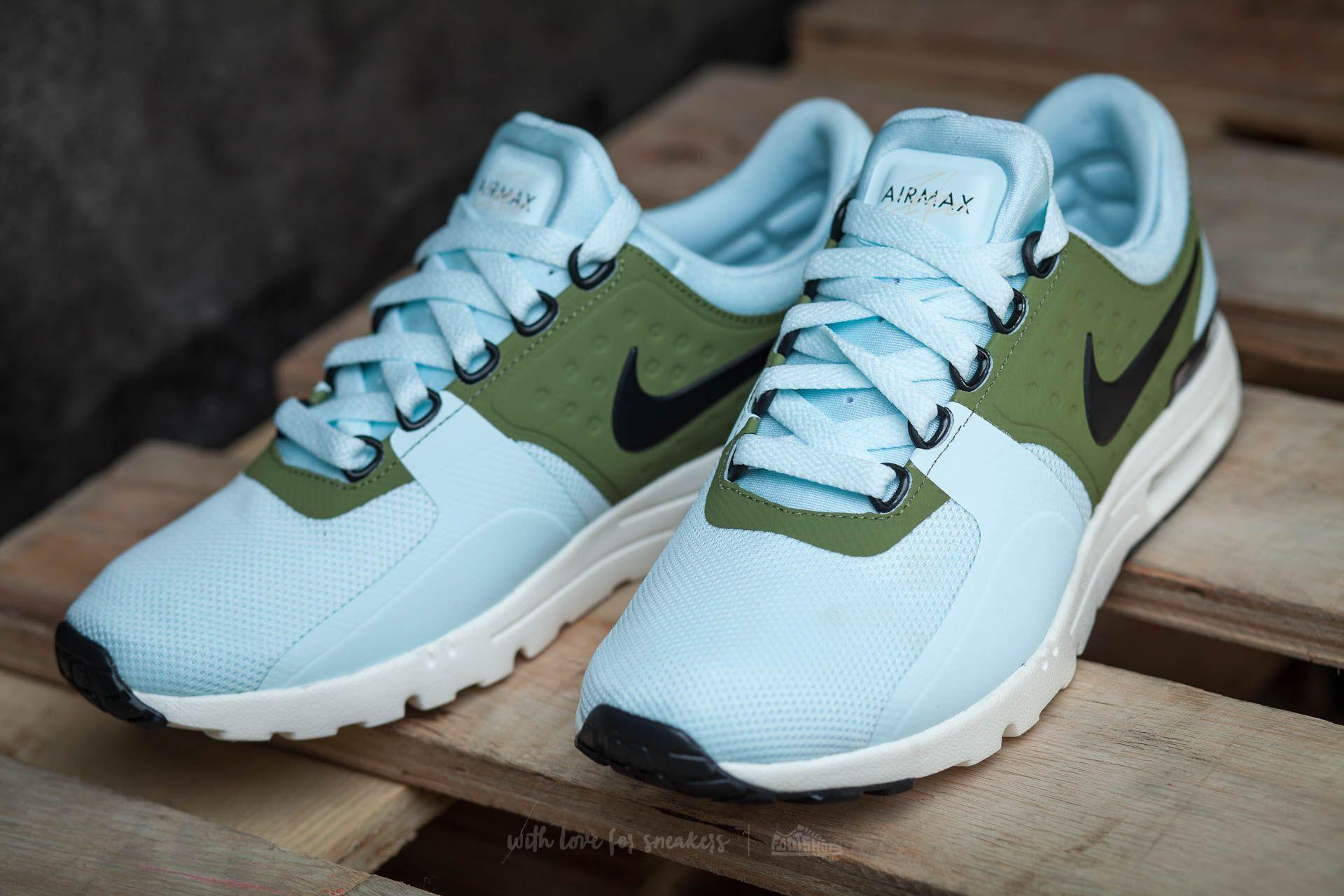 f1c6b44dd23ffa Nike W Air Max Zero Glacier Blue  Black-Ivory at a great price 58