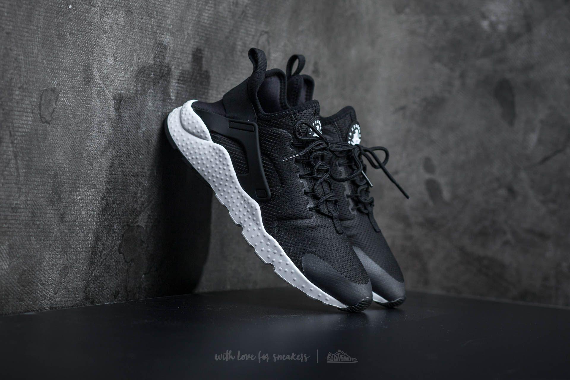 2d88227fbf21 Nike W Air Huarache Run Ultra Black  Black-Black-White