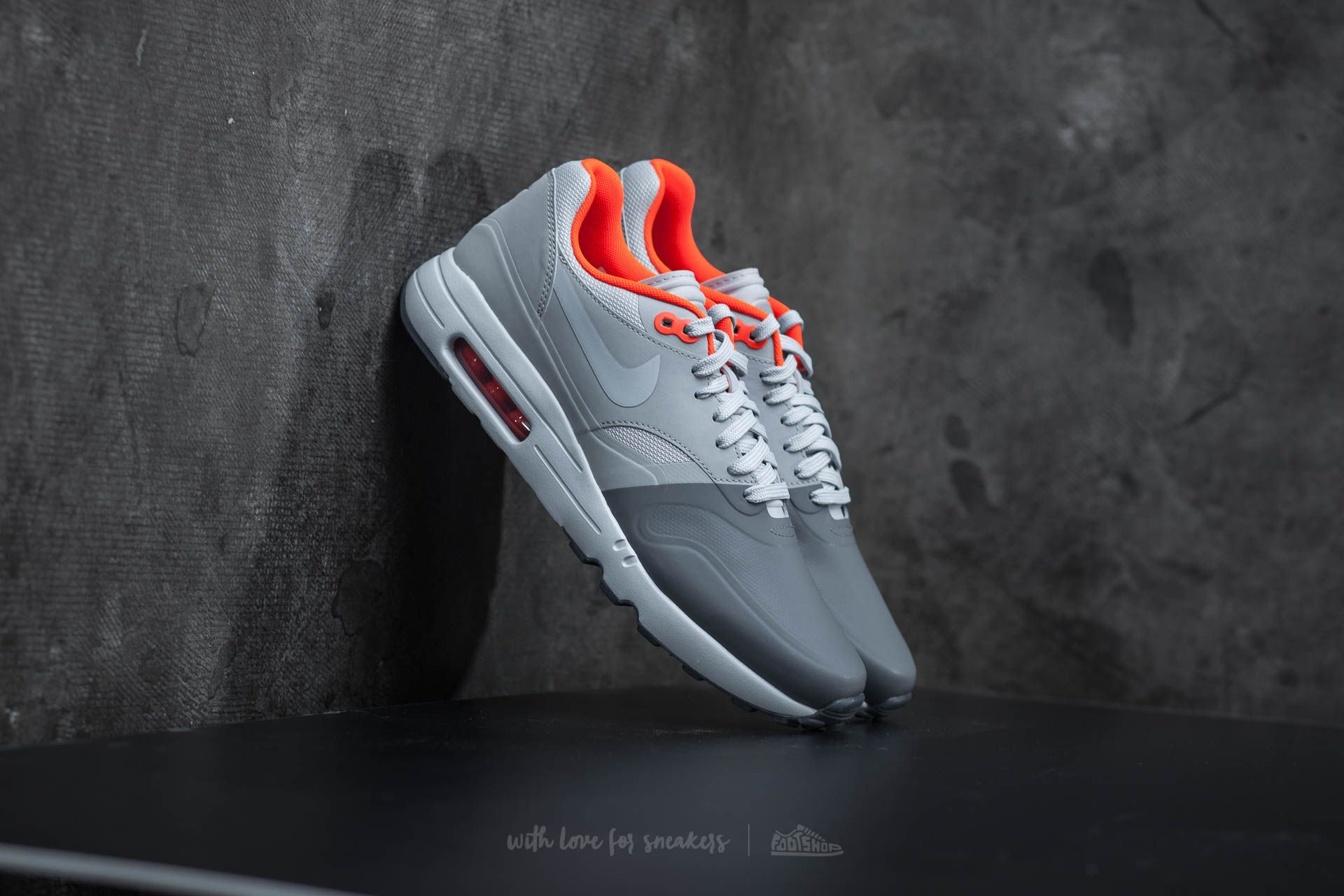 Nike Air Max 1 Ultra 2.0 SE Dark Grey Wolf Grey Wolf Grey | Footshop