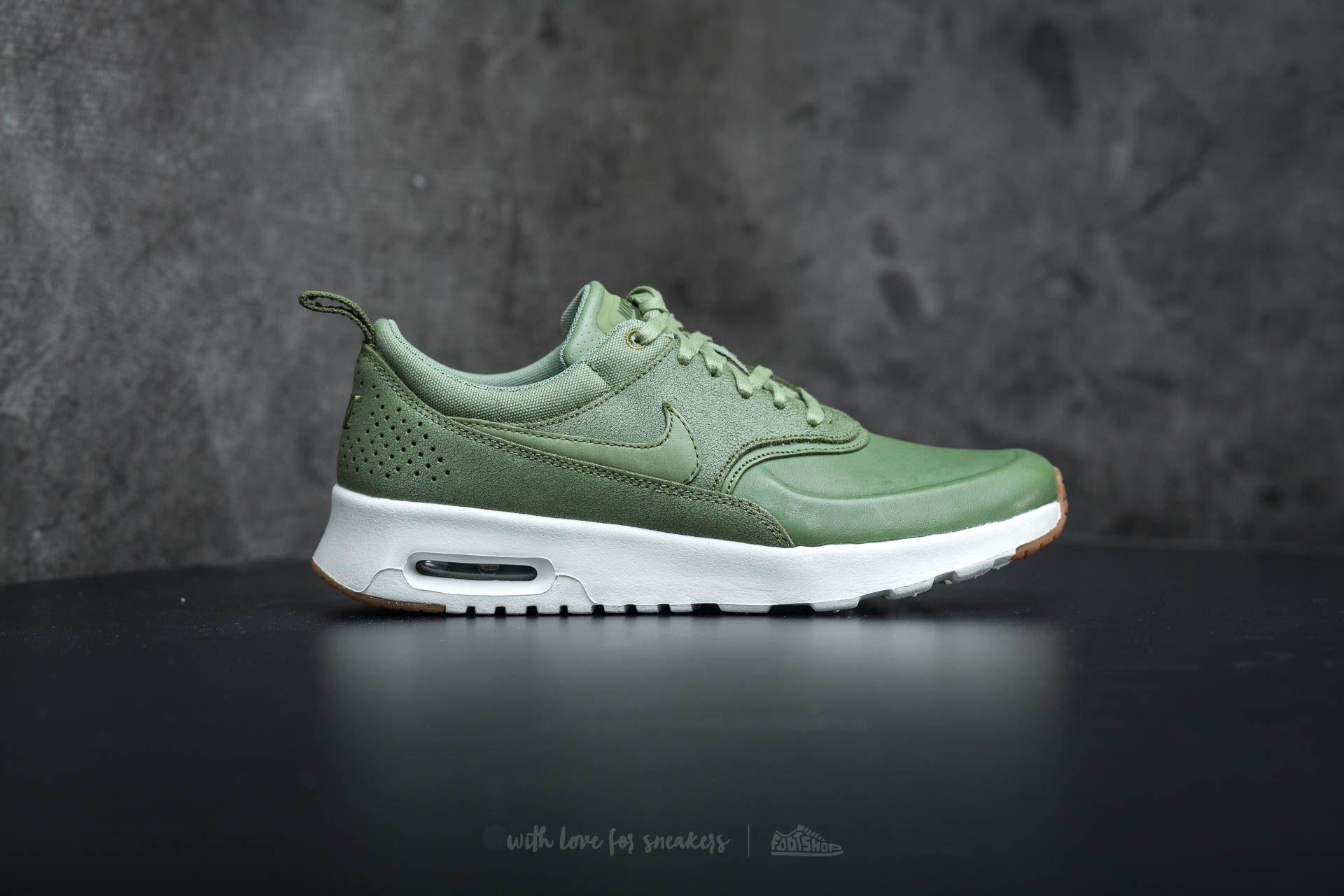 Nike Wmns Air Max Thea Premium Palm Green Palm Green Sail