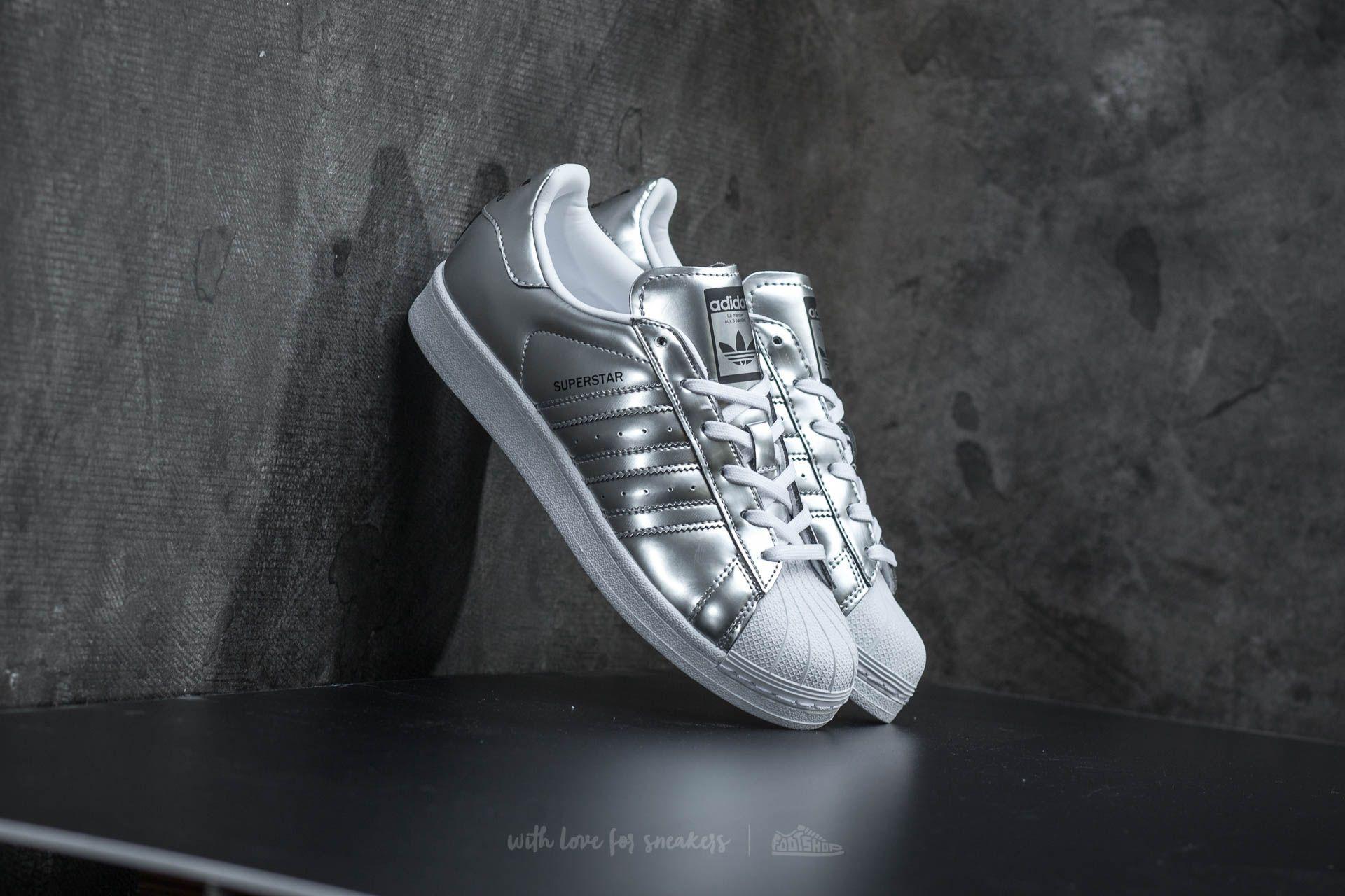 new arrival 5b7de f619a adidas Superstar W Silver Metallic/ Ftw White   Footshop