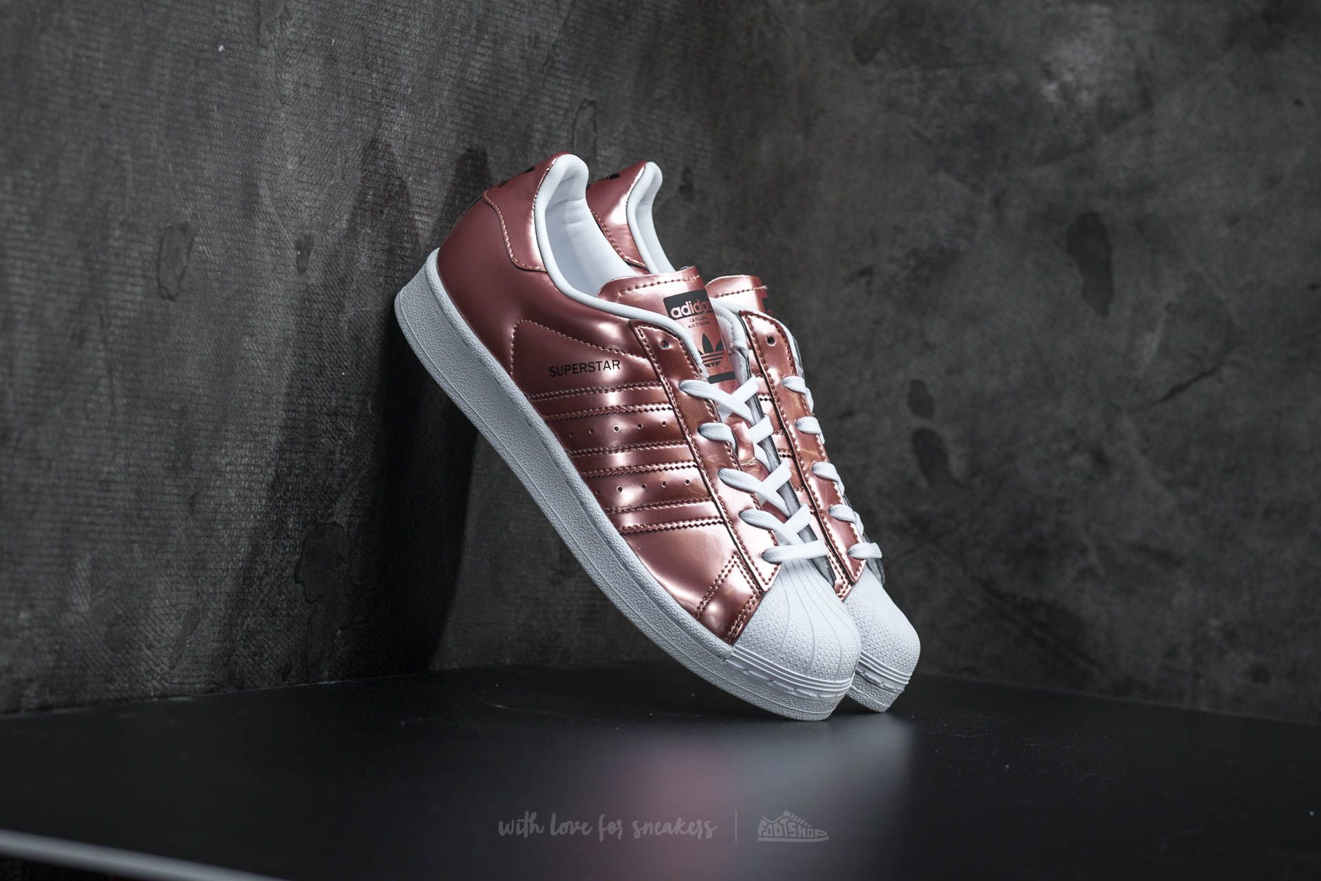 Adidas W Superstar Copper White Footwear Metallic rWxoCdQeB