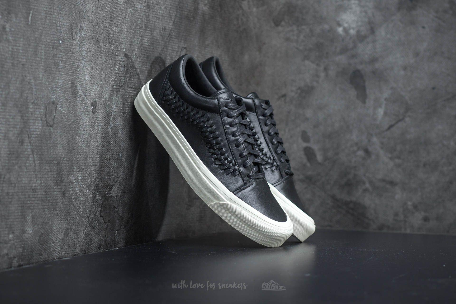 7f2e83bea05 Vans Old Skool Weave DX Leather Black