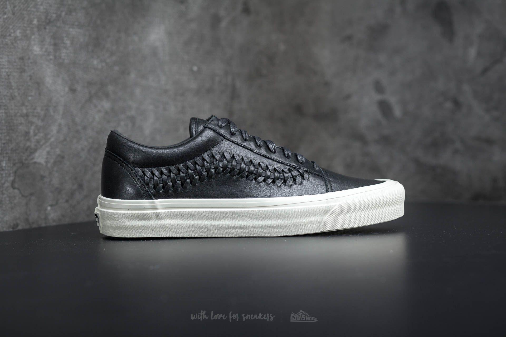 Vans Old Skool Weave DX Leather Black | Footshop