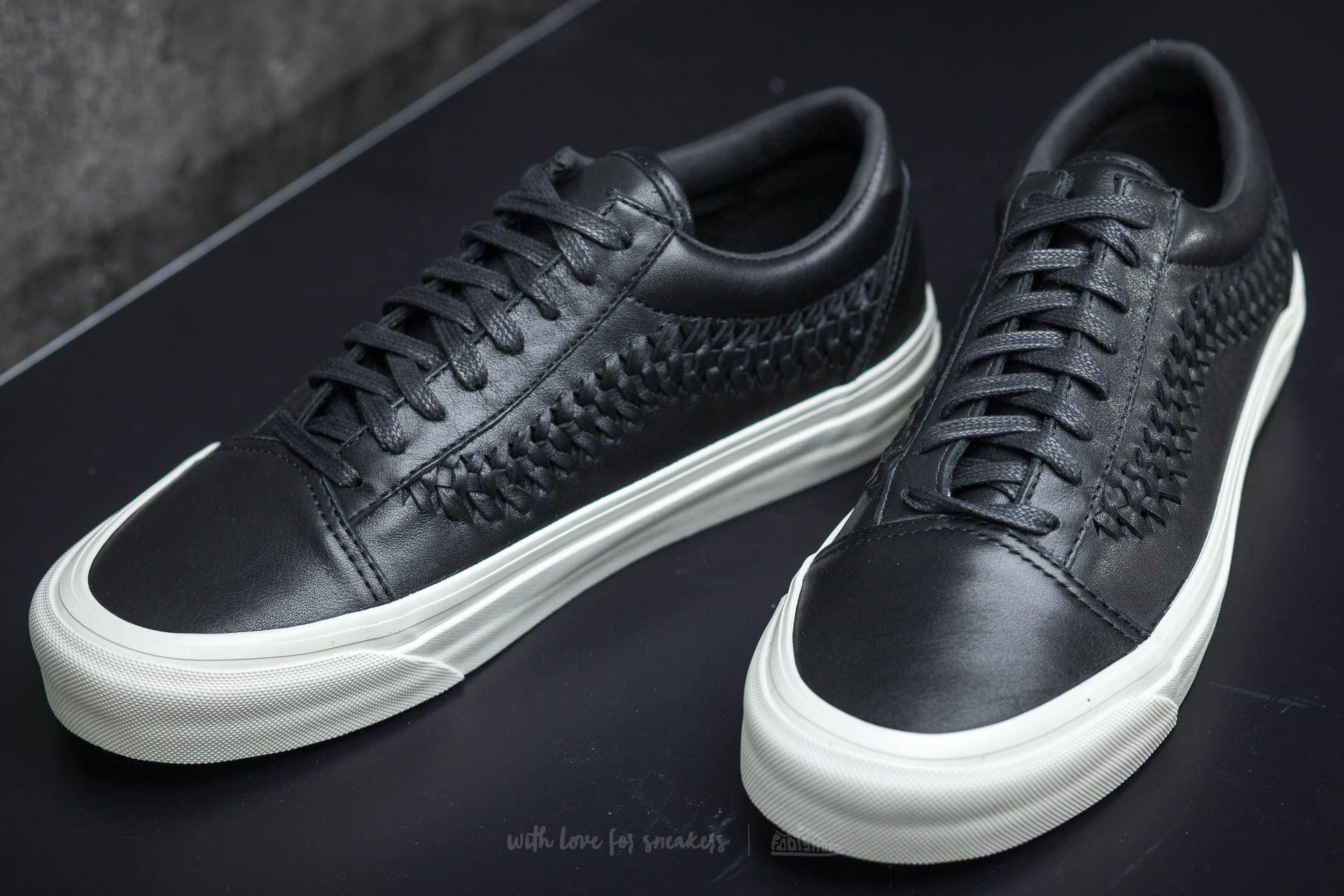 shoes Vans Old Skool Weave DX Leather