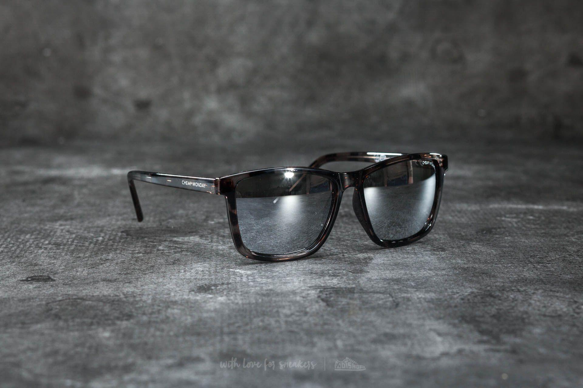 207135ce19 Cheap Monday Straight Sunglasses Prison Turtle Grey
