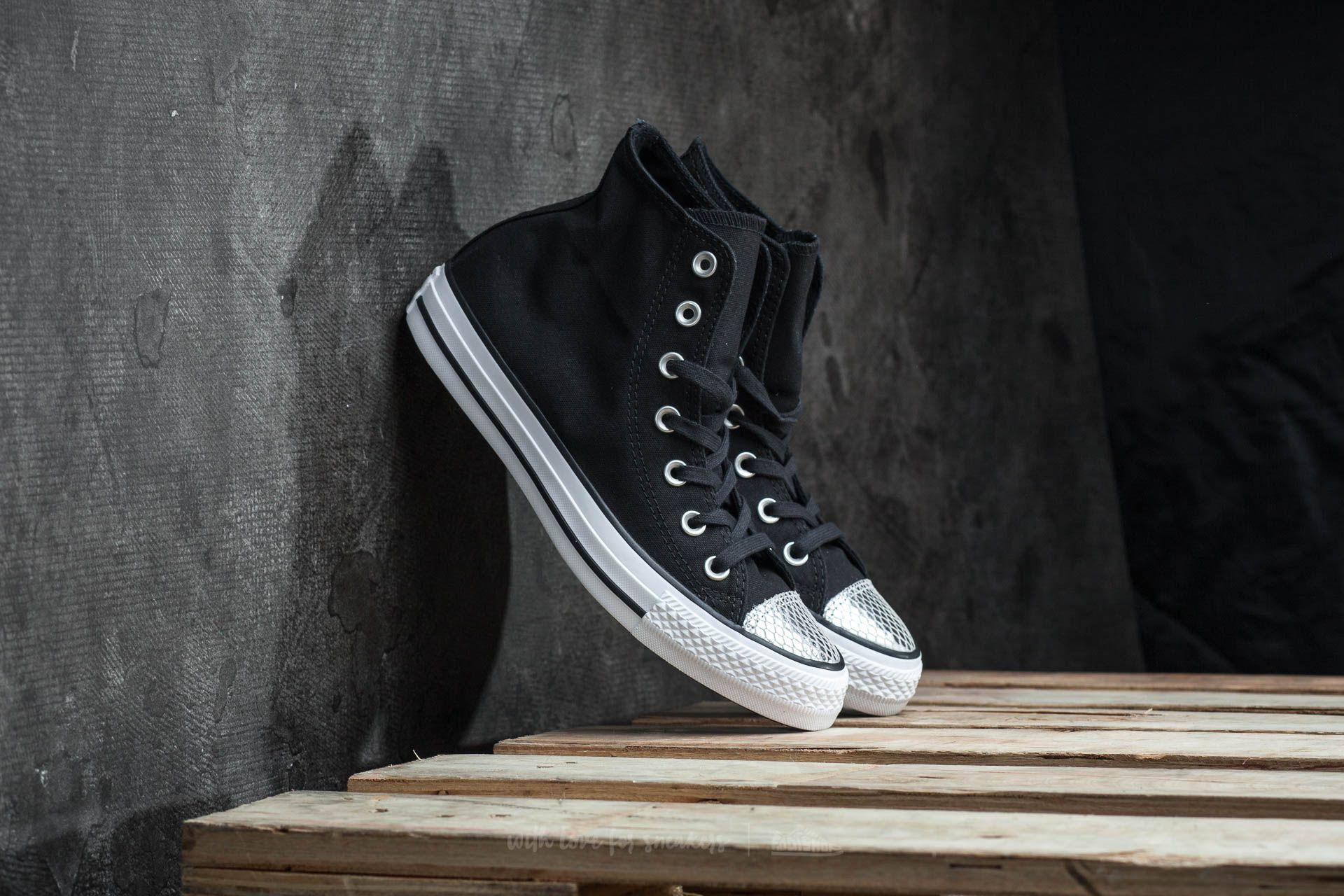 7f08865803f Converse Chuck Taylor All Star Hi Black  Silver  Black
