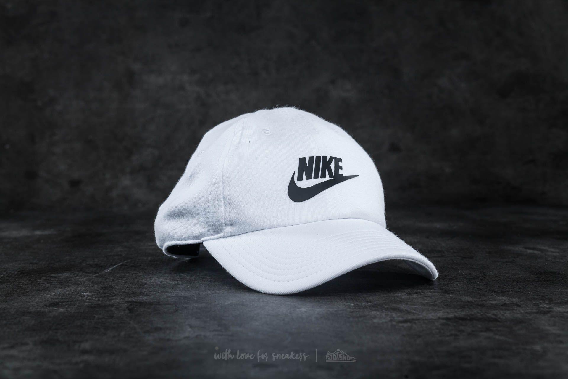 44342efa512 Nike W Sportswear H86 Cap White  Black