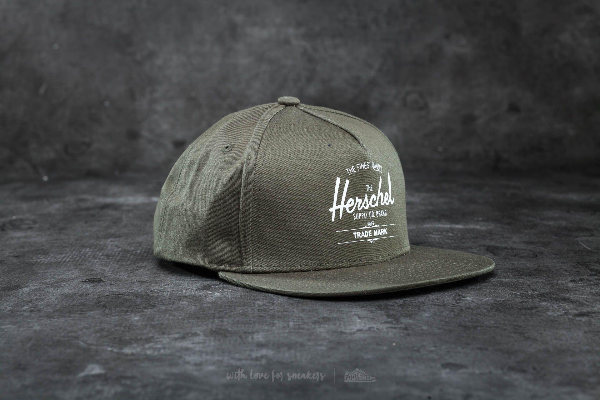 3ec441c97 Herschel Supply Co. Whaler Cap Army