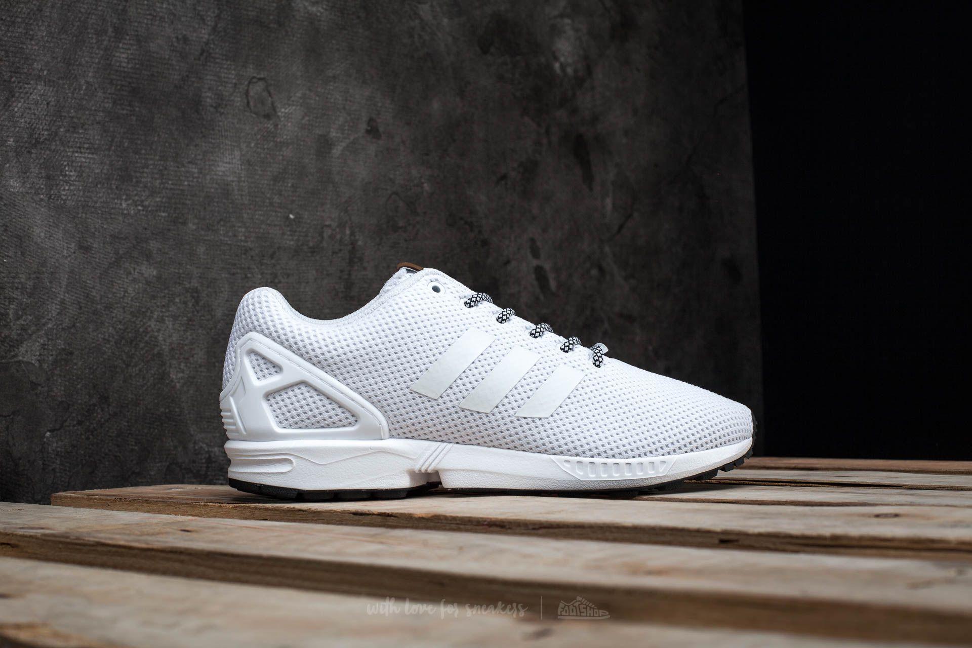 newest collection fd24c 87f94 adidas ZX Flux Ftw White/ Ftw White | Footshop