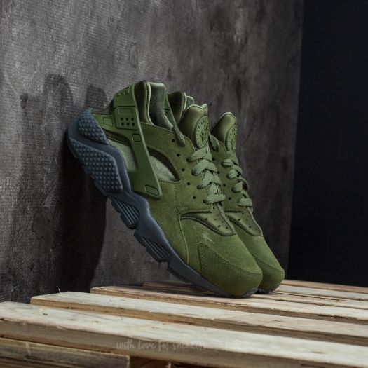 Nike Air Huarache Run SE Legion Green Legion Green | Footshop