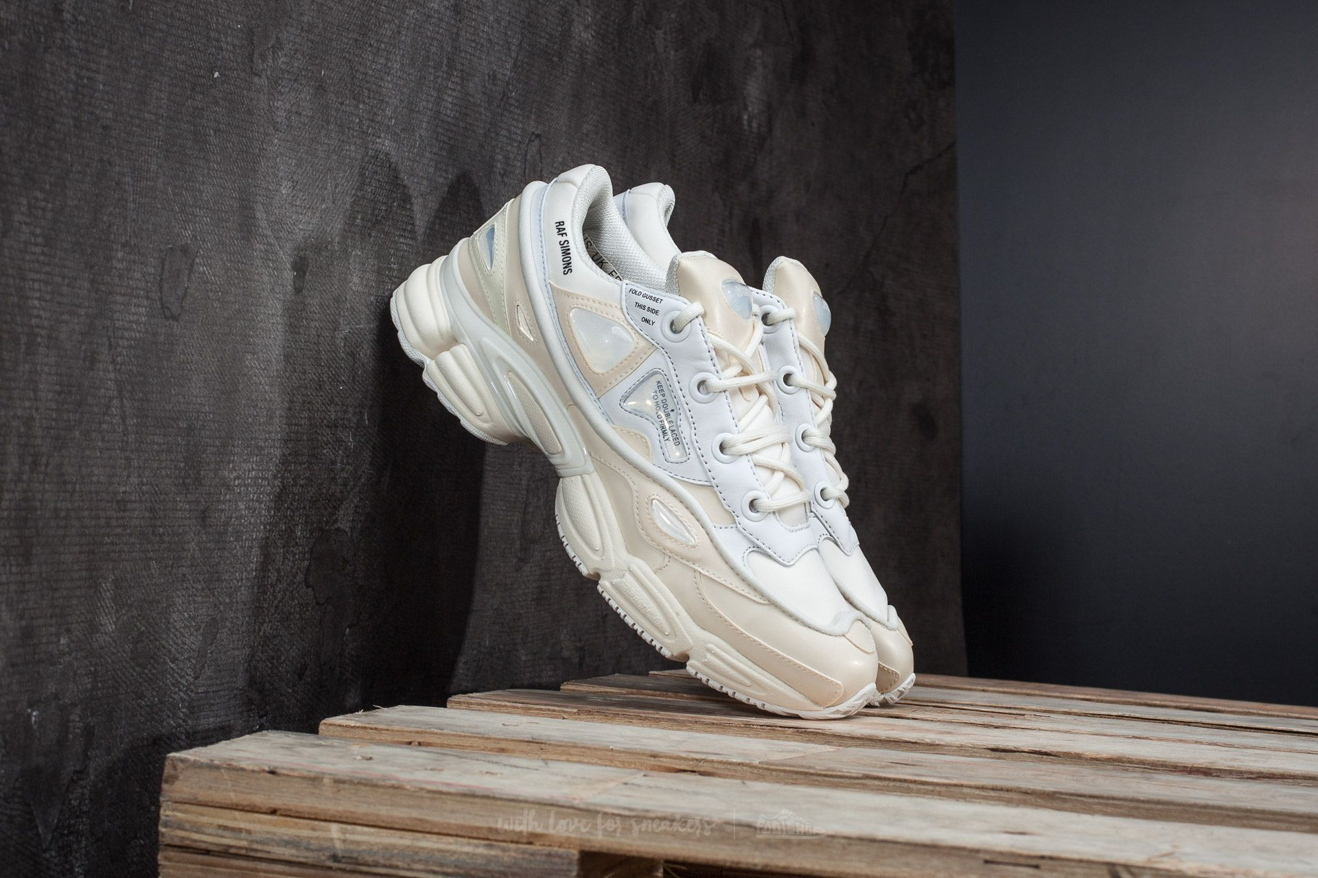 d38a2db5fc92 adidas x Raf Simons Ozweego Bunny Core White  Crystal White  Core ...