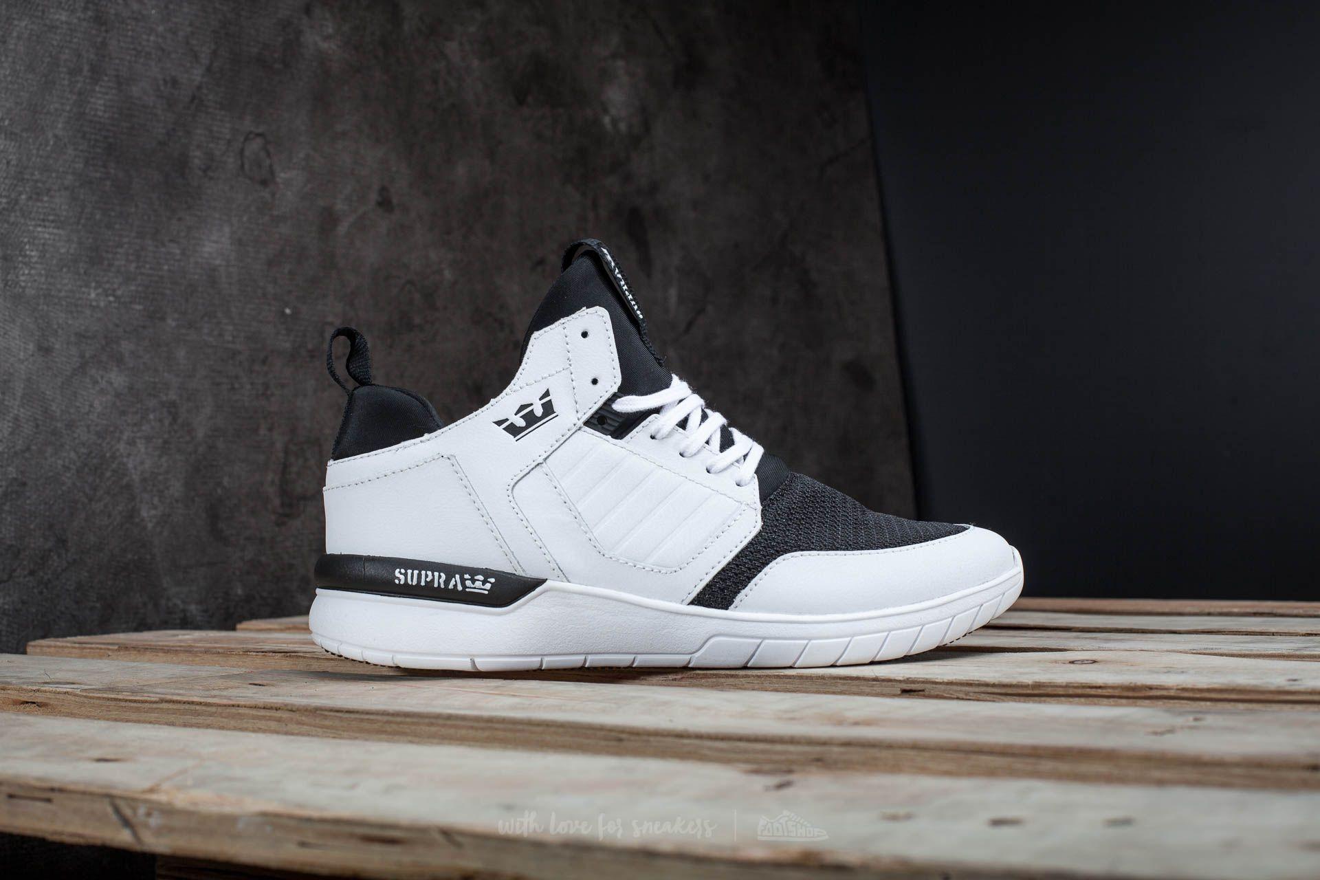 Men's shoes Supra Method White-White