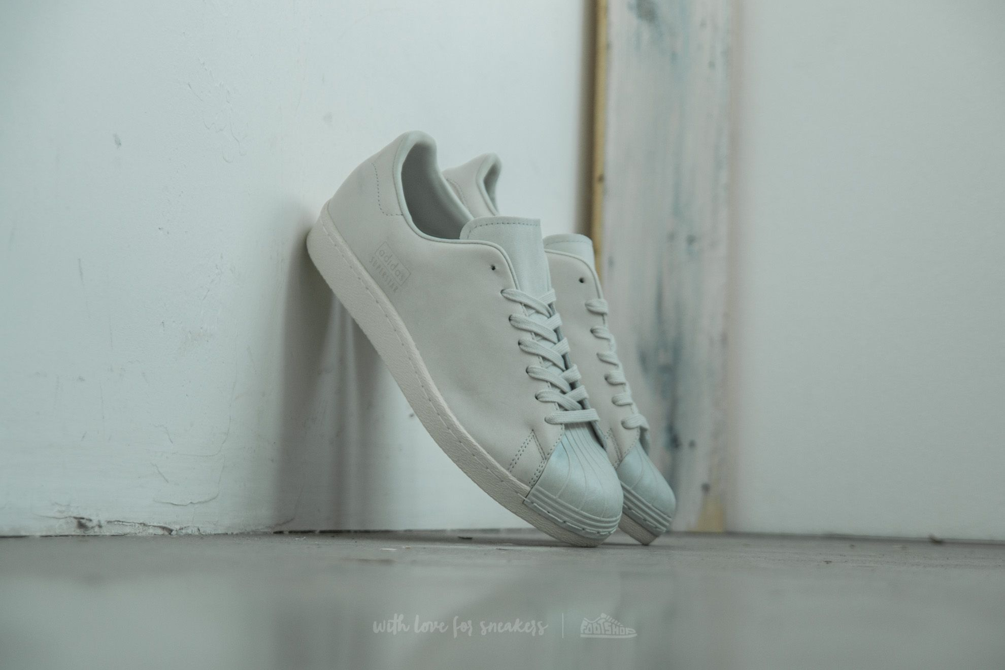 99ac8dabca5 adidas Superstar 80s Clean Crystal White  Crystal White  Off White ...