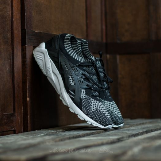 Asics Gel Kayano Trainer Knit Silver Black | Footshop