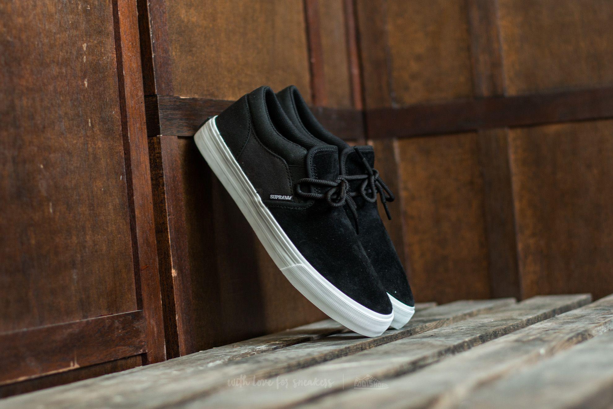 Men's shoes Supra Cuba Black-White