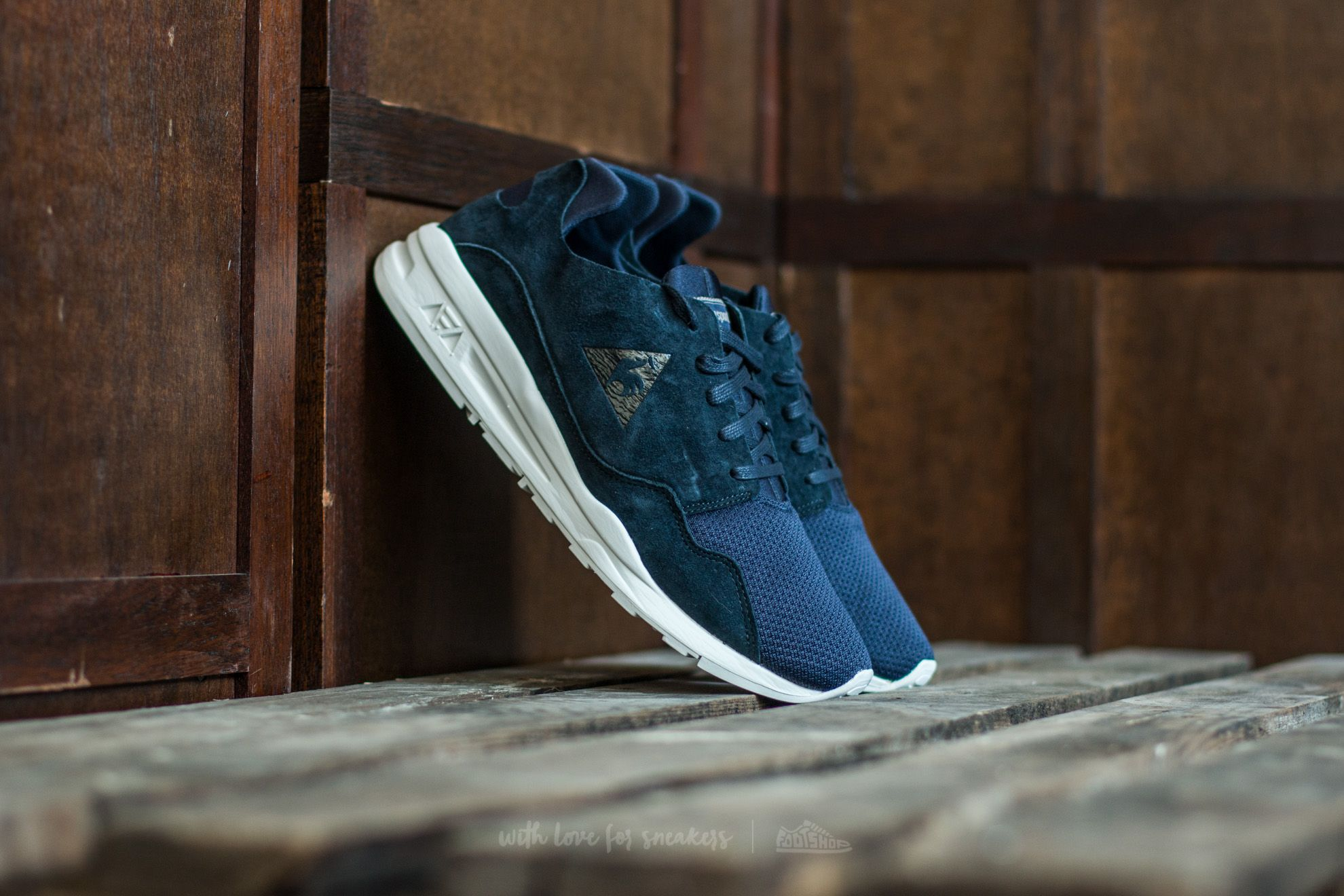 1668ee6b0574 le coq sportif R Pure Mono Luxe Dress Blue