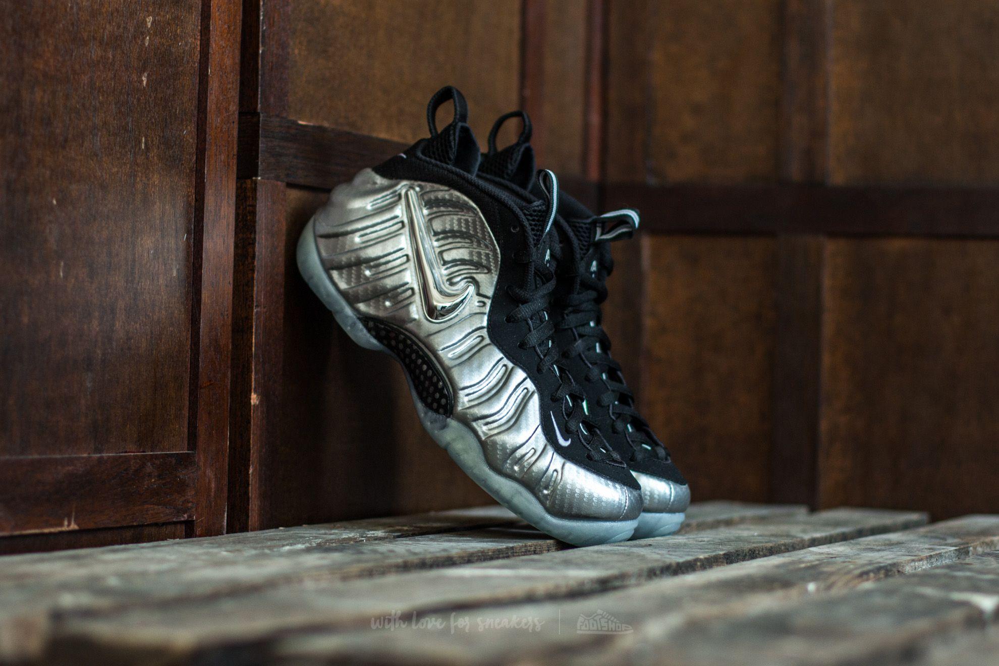 Nike Air Foamposite Pro Metallic Silver  d2b0bff4ba