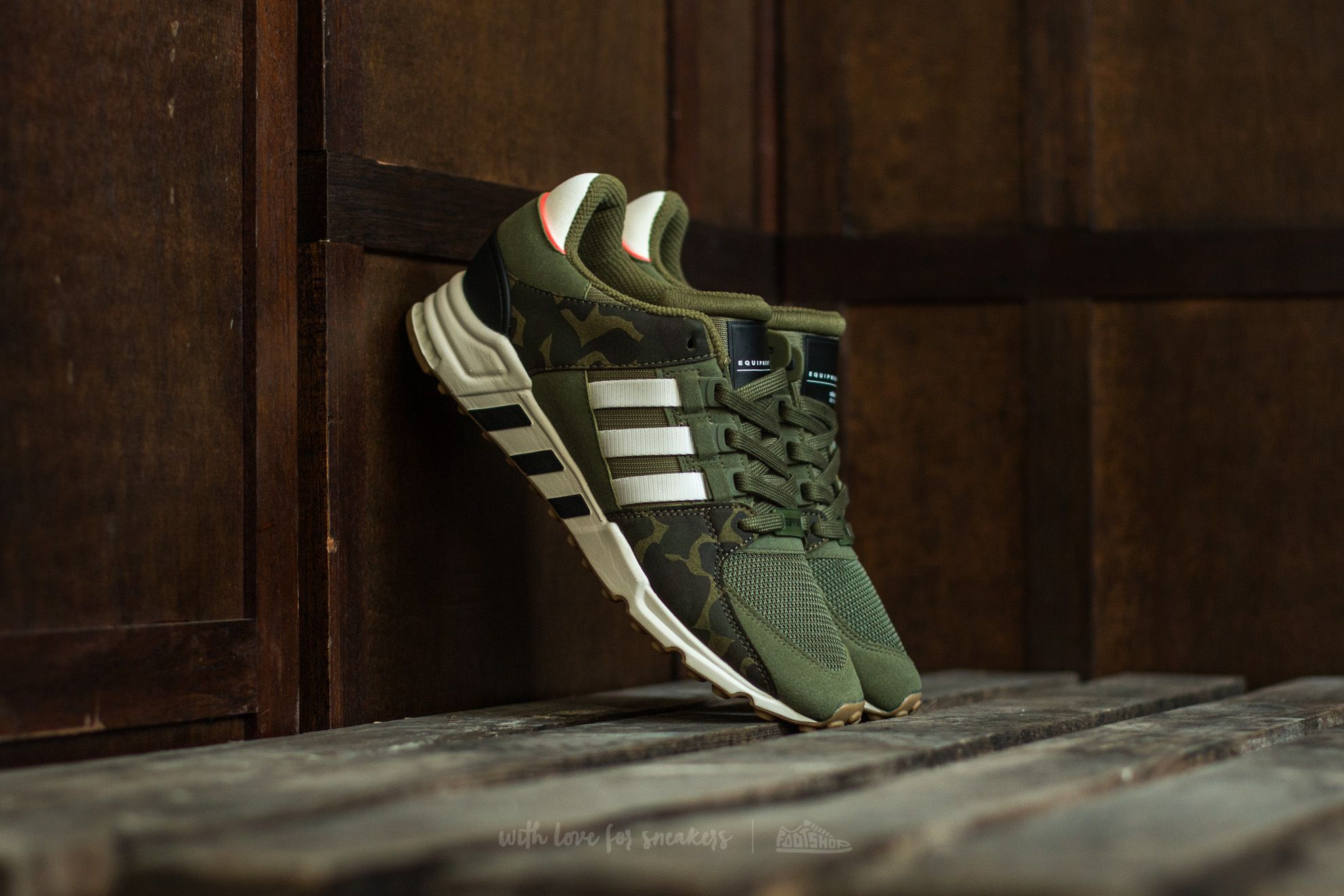 lowest price df185 dbee5 adidas EQT Support RF. Olive Cargo Off White Core Black