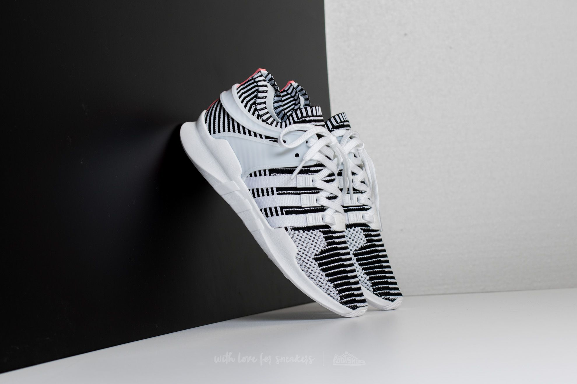 adidas EQT Support ADV Primeknit Ftw White/ Ftw White/ Turbo   Footshop