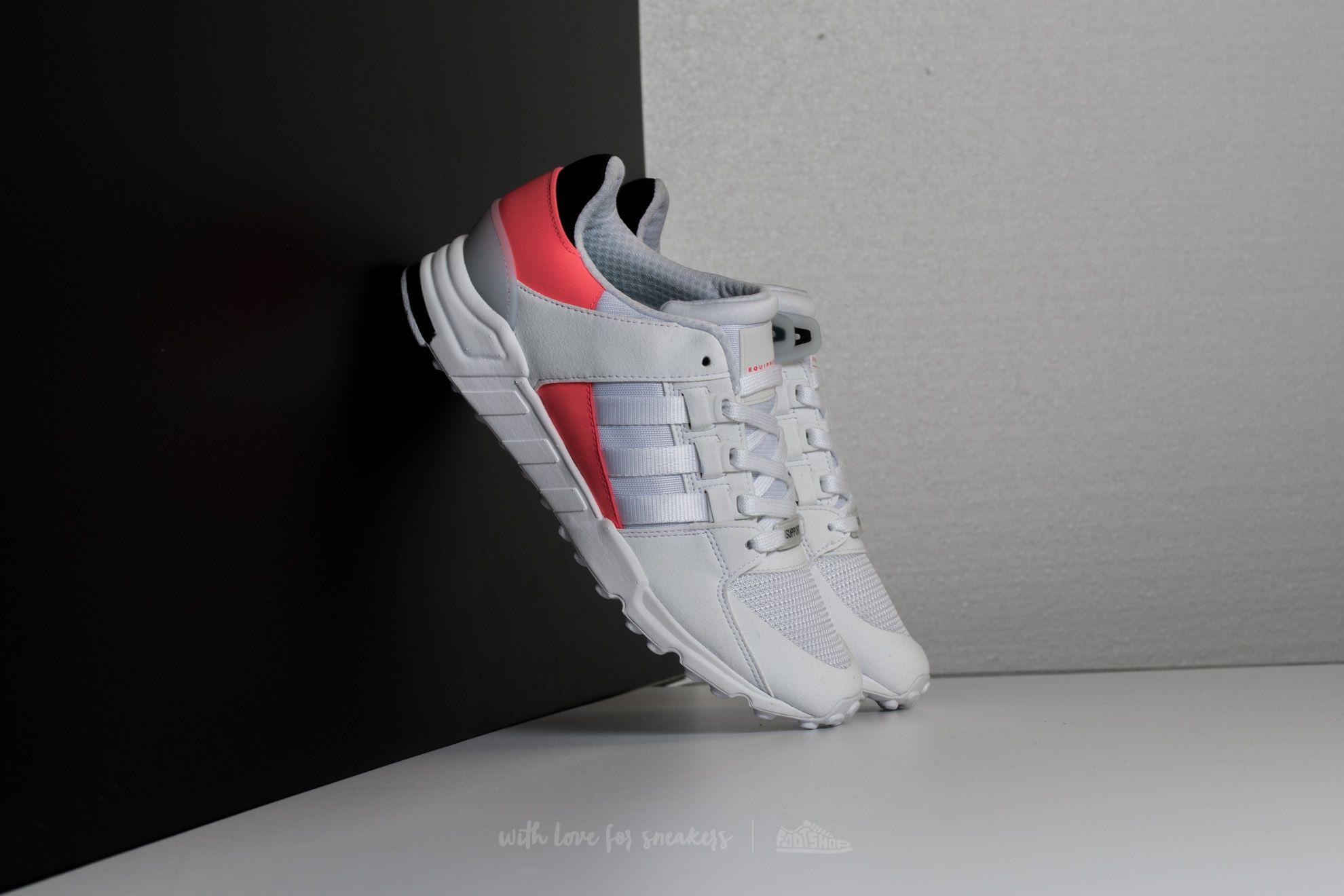 Adidas EQT Support RF Core Black, Turbo & White | END.