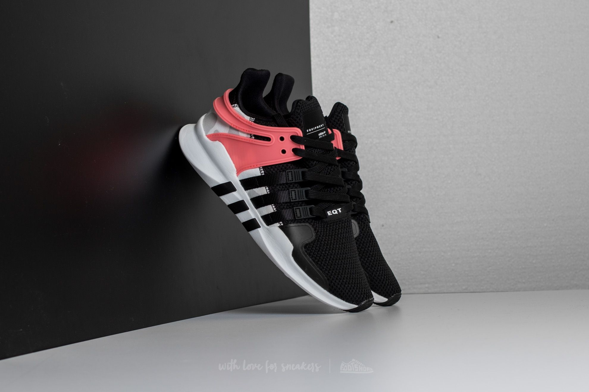 adidas Equipment Support ADV Core Black/ Core Black/ Turbo   Footshop