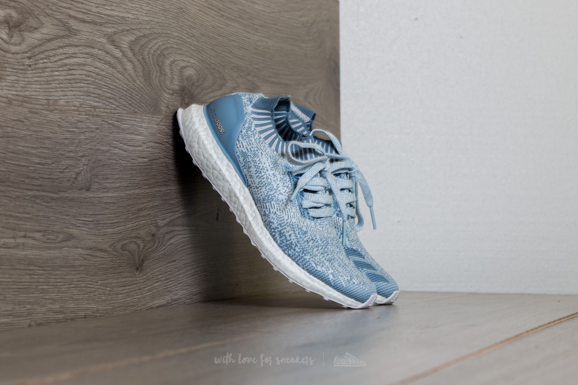 46dbf0911a2db6 adidas UltraBoost Uncaged W Crystal White  Tactile Blue  Easy Blue ...