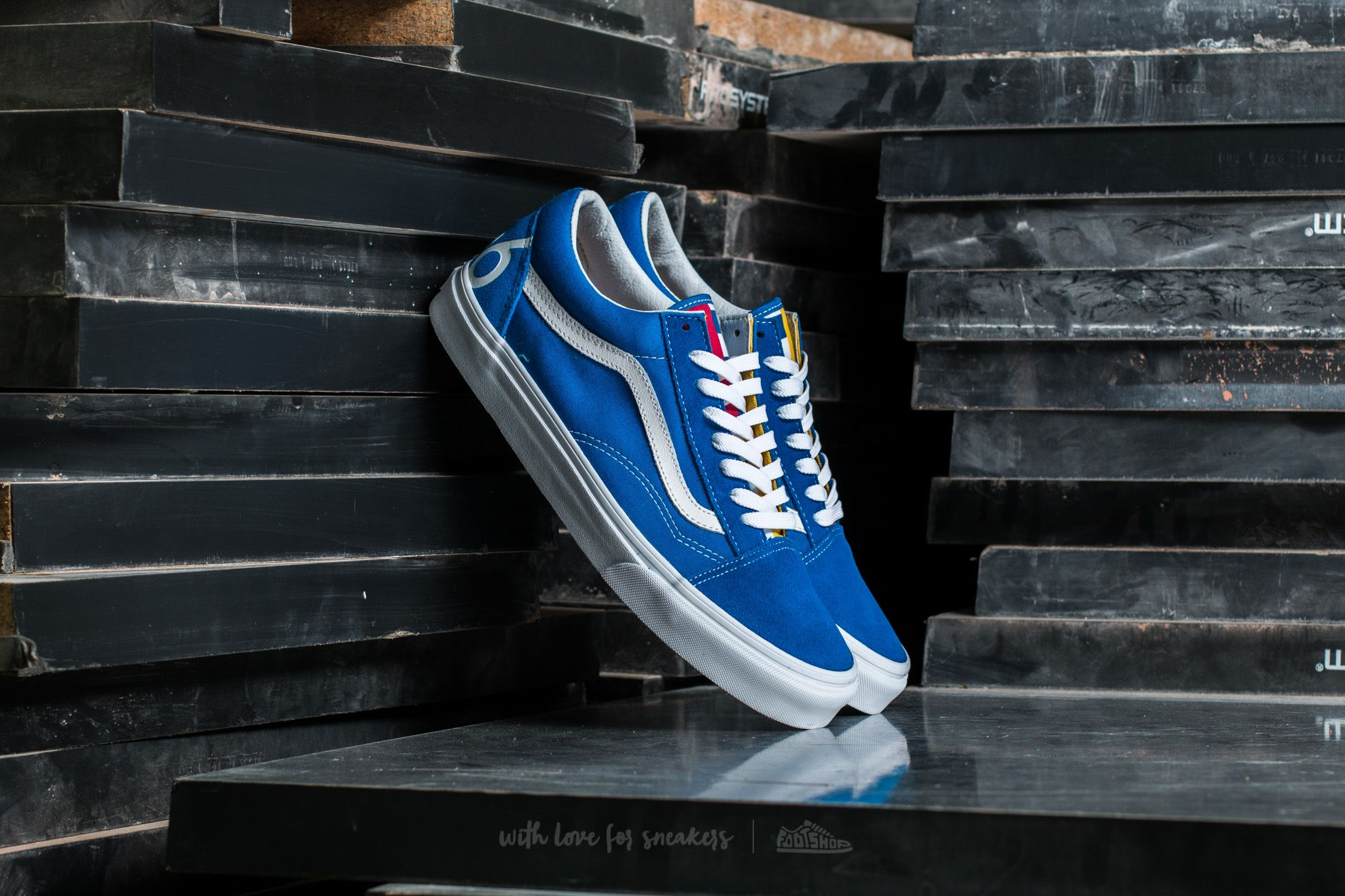 Vans Old Skool (1966)Blue White Red