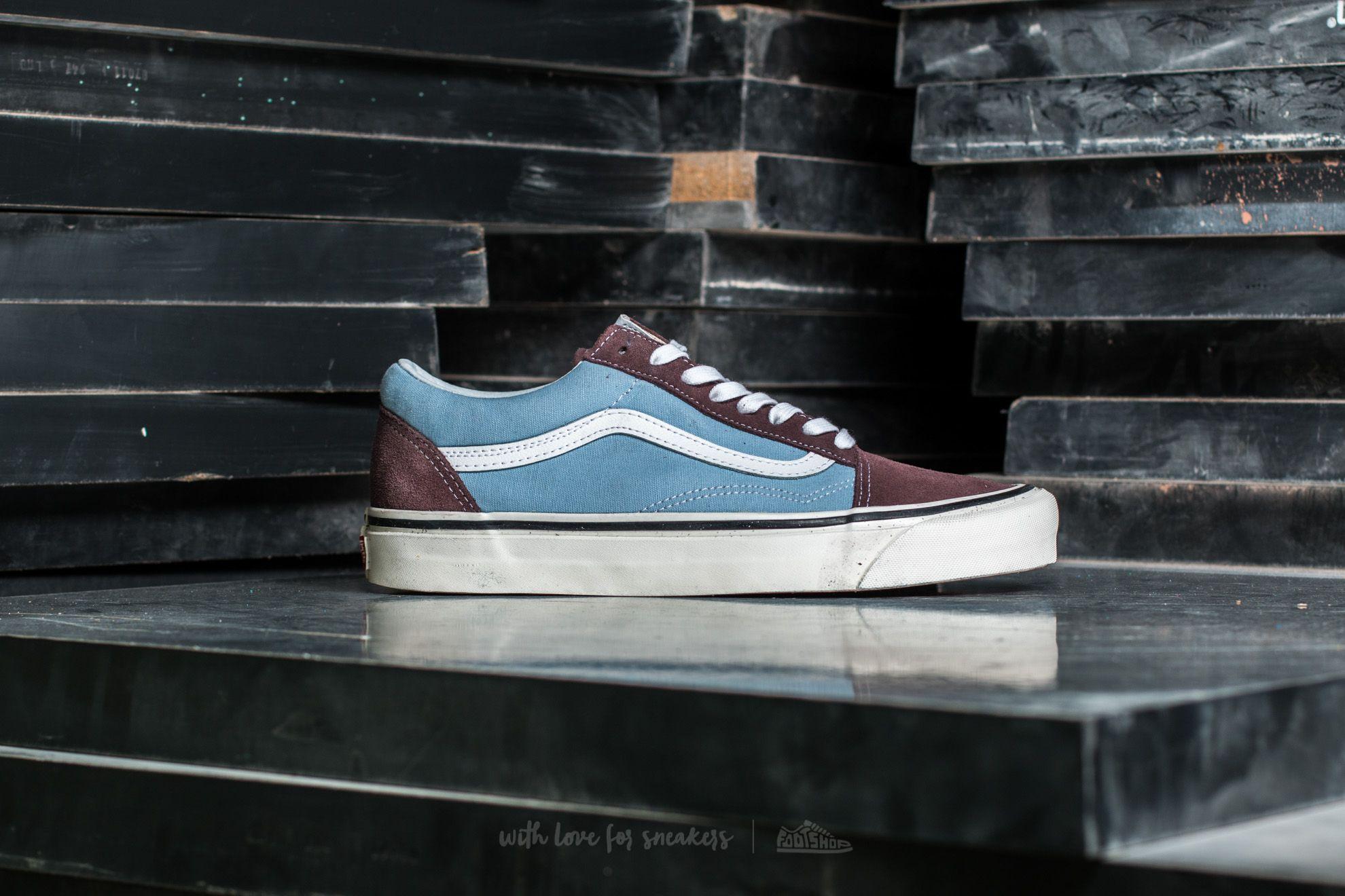 Vans Old Skool 36 DX (Anaheim Factory) Brown Light Blue | Footshop