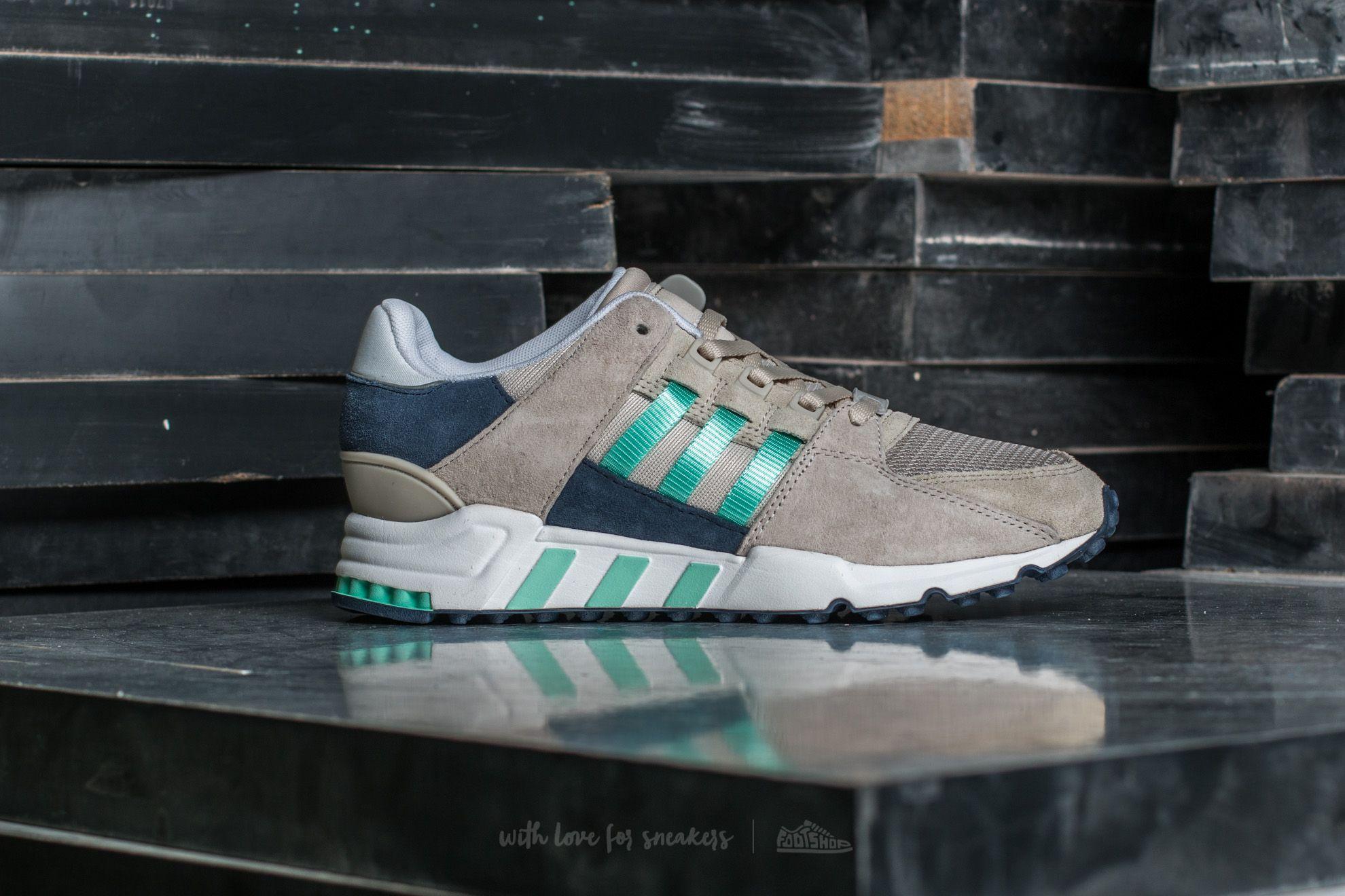 adidas EQT Support ADV Damen Schuhe Clear Brown Easy Green