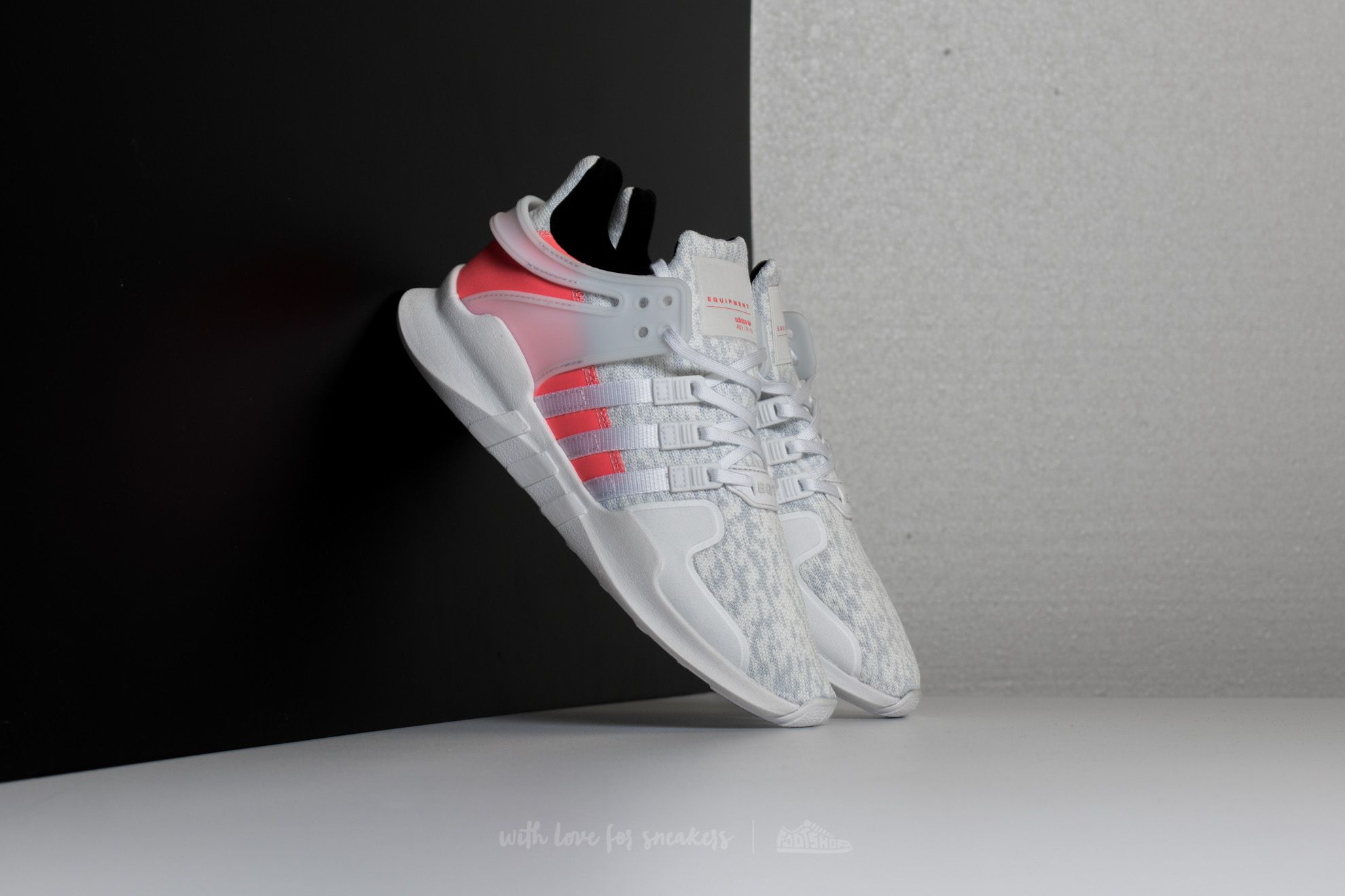 official photos a900d 7b338 ... sweden adidas eqt support adv crystal white footwear white turbo b2b0a  d3e1e