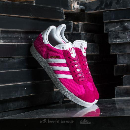 adidas Gazelle Shock Pink Ftw White | Footshop