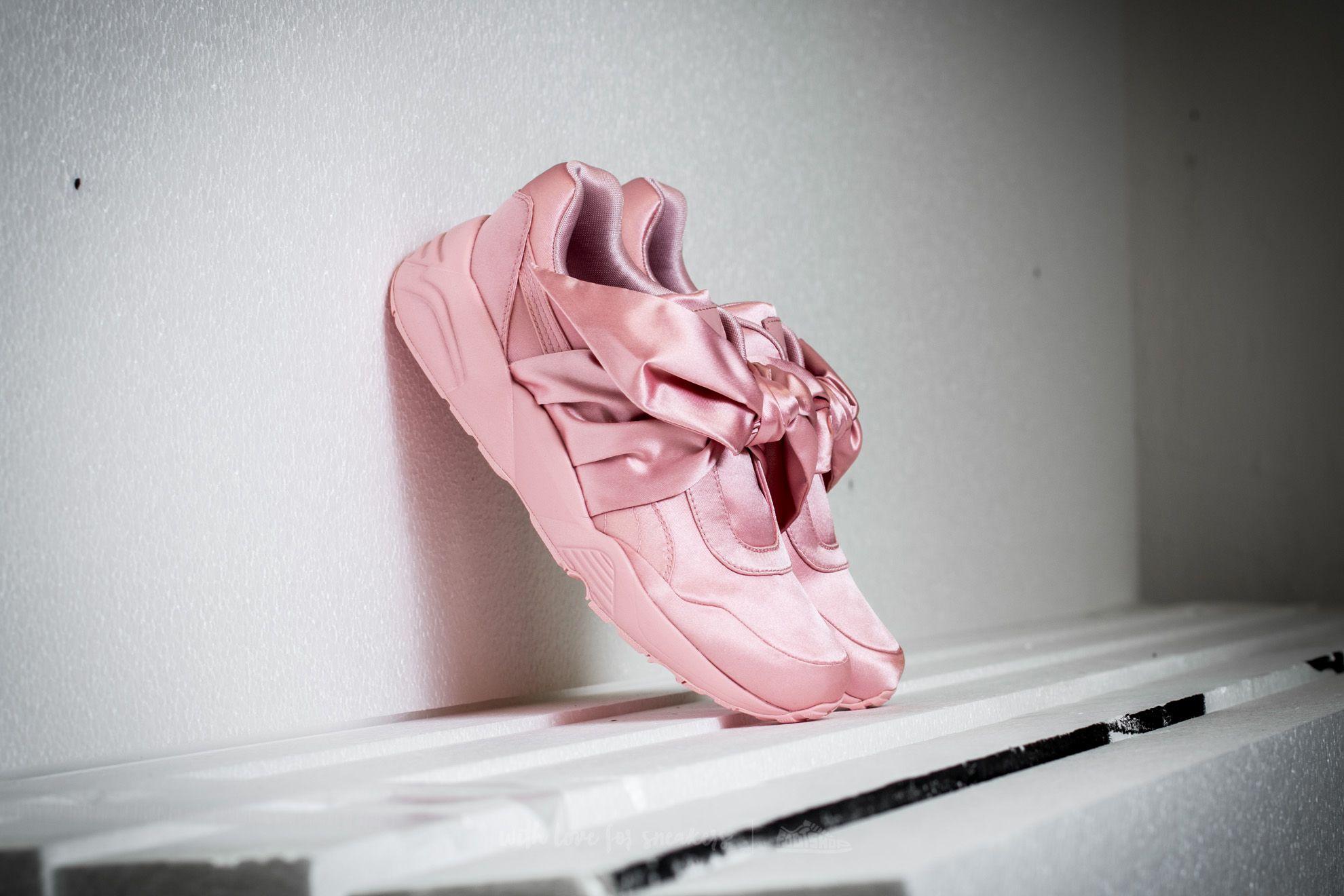 5dd50e592cd Puma Fenty x Rihanna Bow Sneaker Womens Silver Pink-Pink-Silver Pink