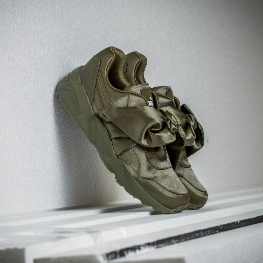 new york 6a50d c0ea7 Puma Fenty x Rihanna Bow Sneaker Womens Olive Branch ...
