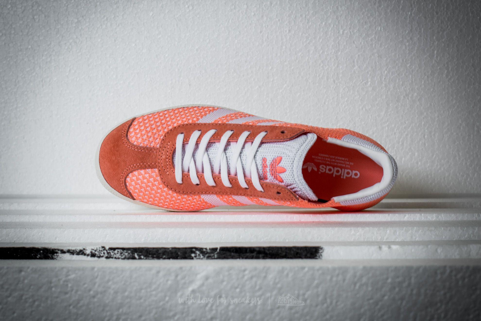 0f8150edfe8 adidas Gazelle Primeknit W Sun Glow  Ftw White  Core White W super cenie 224