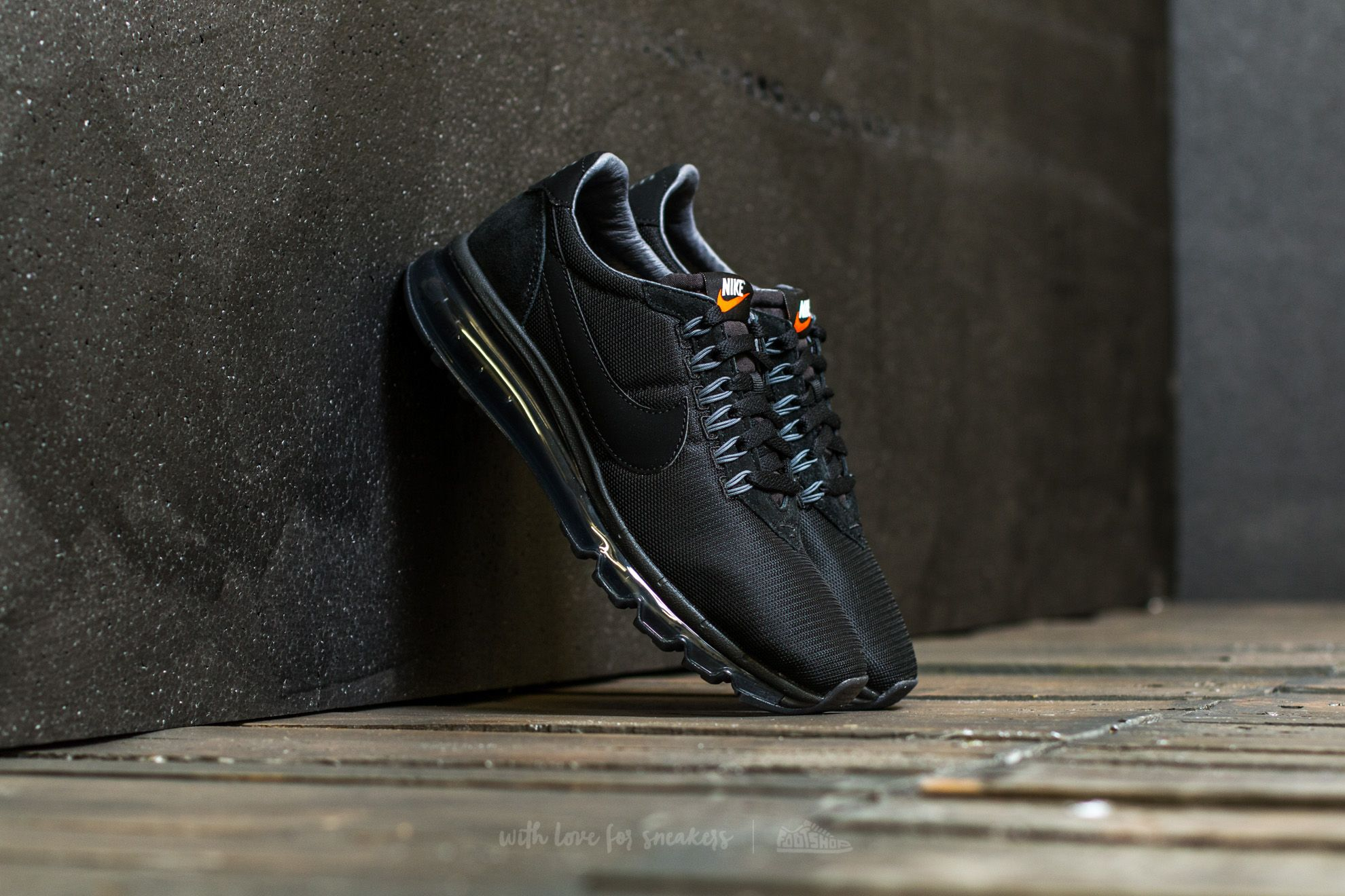 100% authentic 2d353 fd47f Nike Air Max LD-Zero. Black  Black-Dark Grey