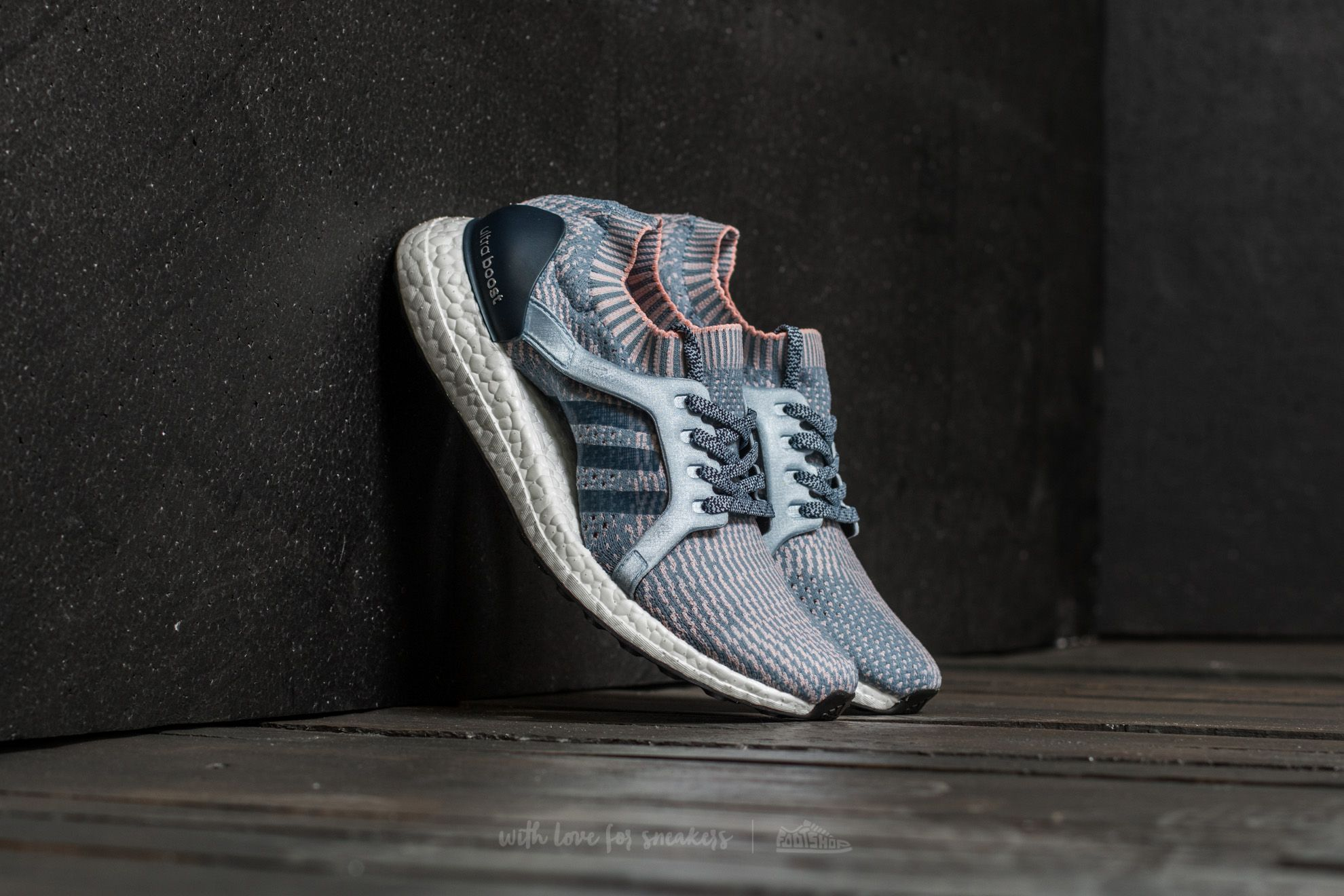 premium selection ce6df 23f74 adidas Ultra Boost X. Tactile Blue Easy Blue Haze Coral