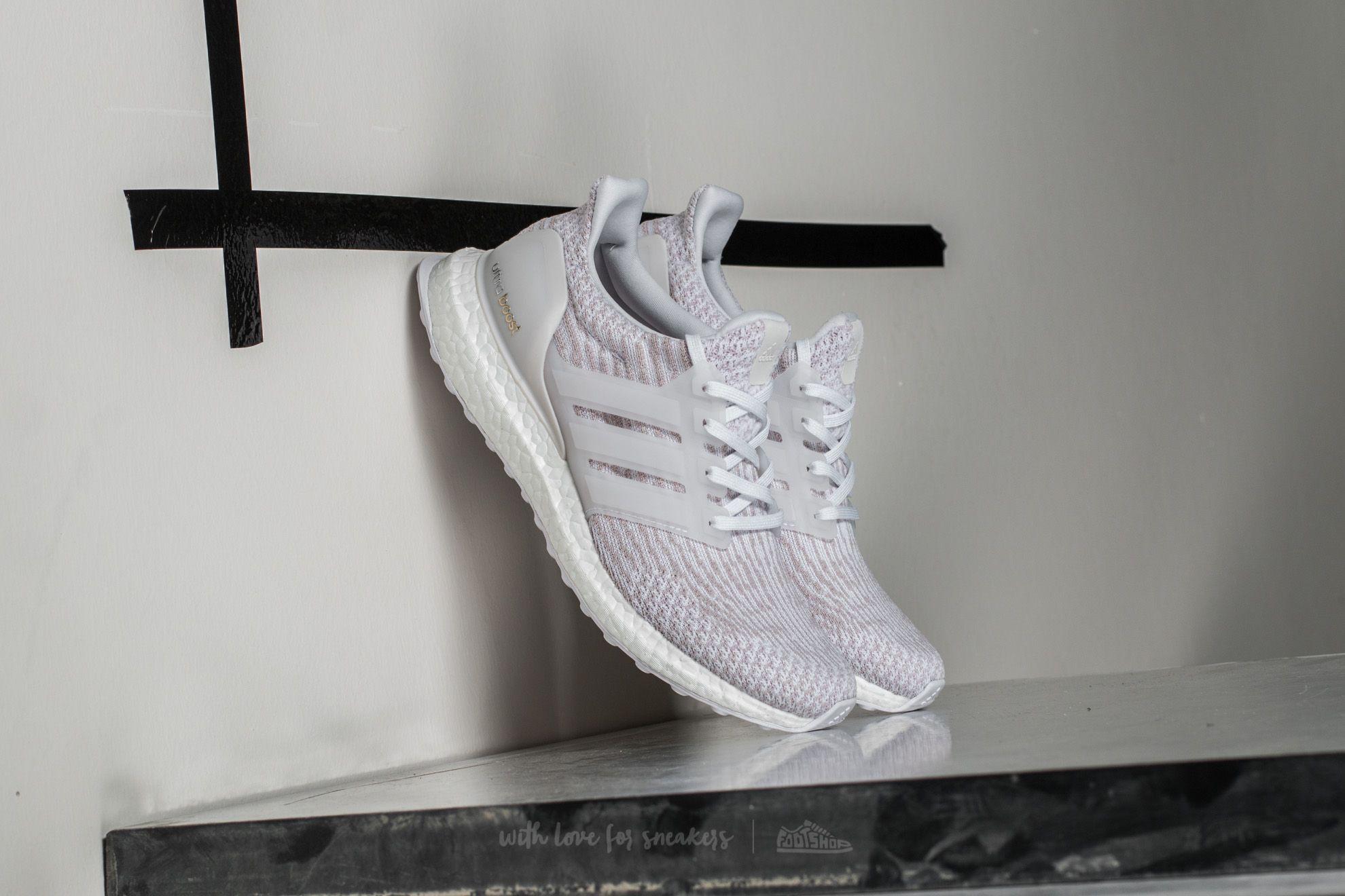 7aee4773a3f2b adidas Ultra Boost w Ftw White  Pearl Grey