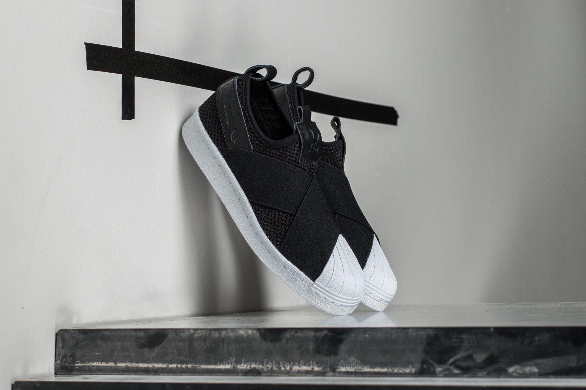 093aa8d6e adidas Superstar SlipOn W Core Black  Core Black  Ftw White