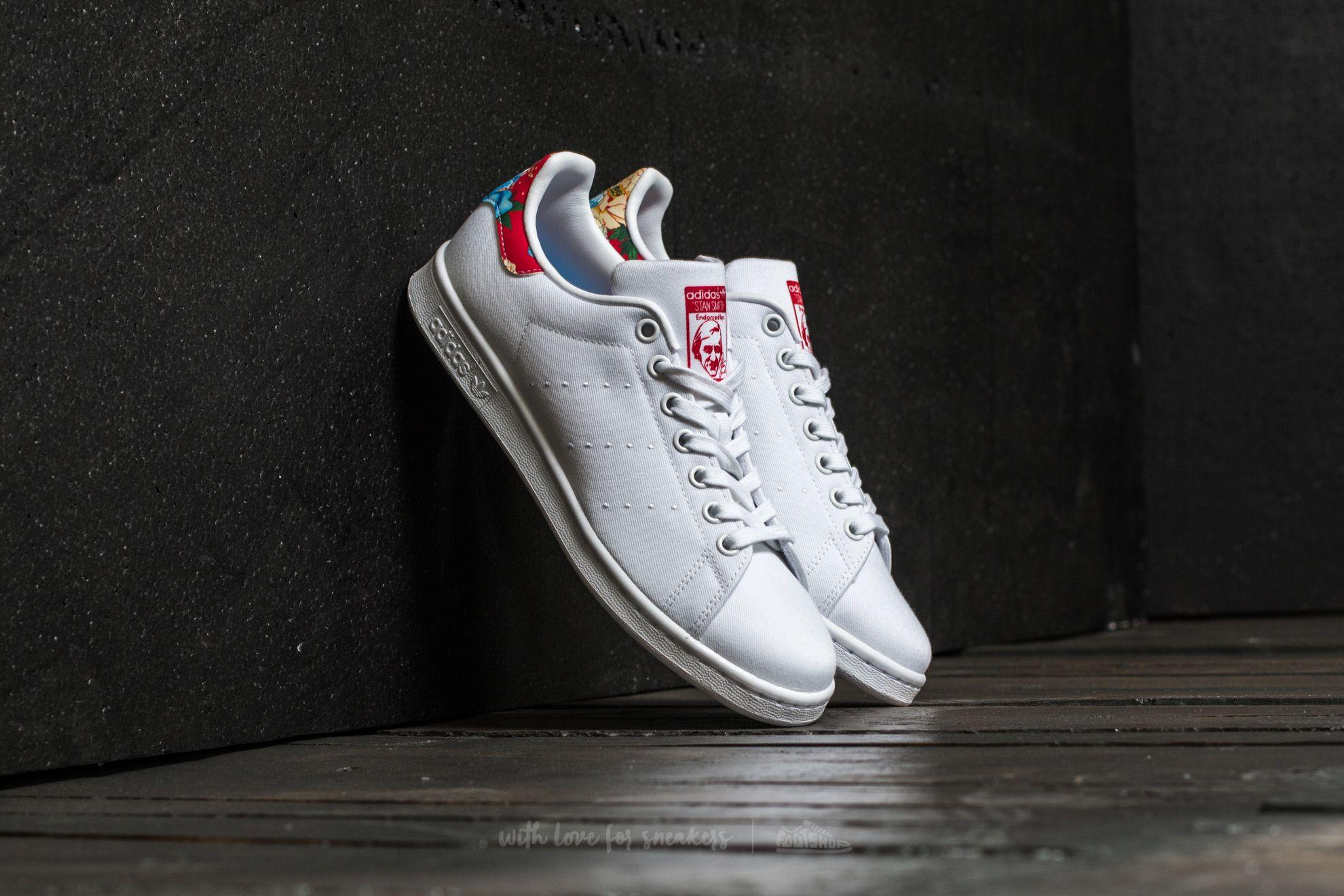 newest 60d2b c32ad adidas Stan Smith W Ftw White/ Ftw White/ Power Red | Footshop